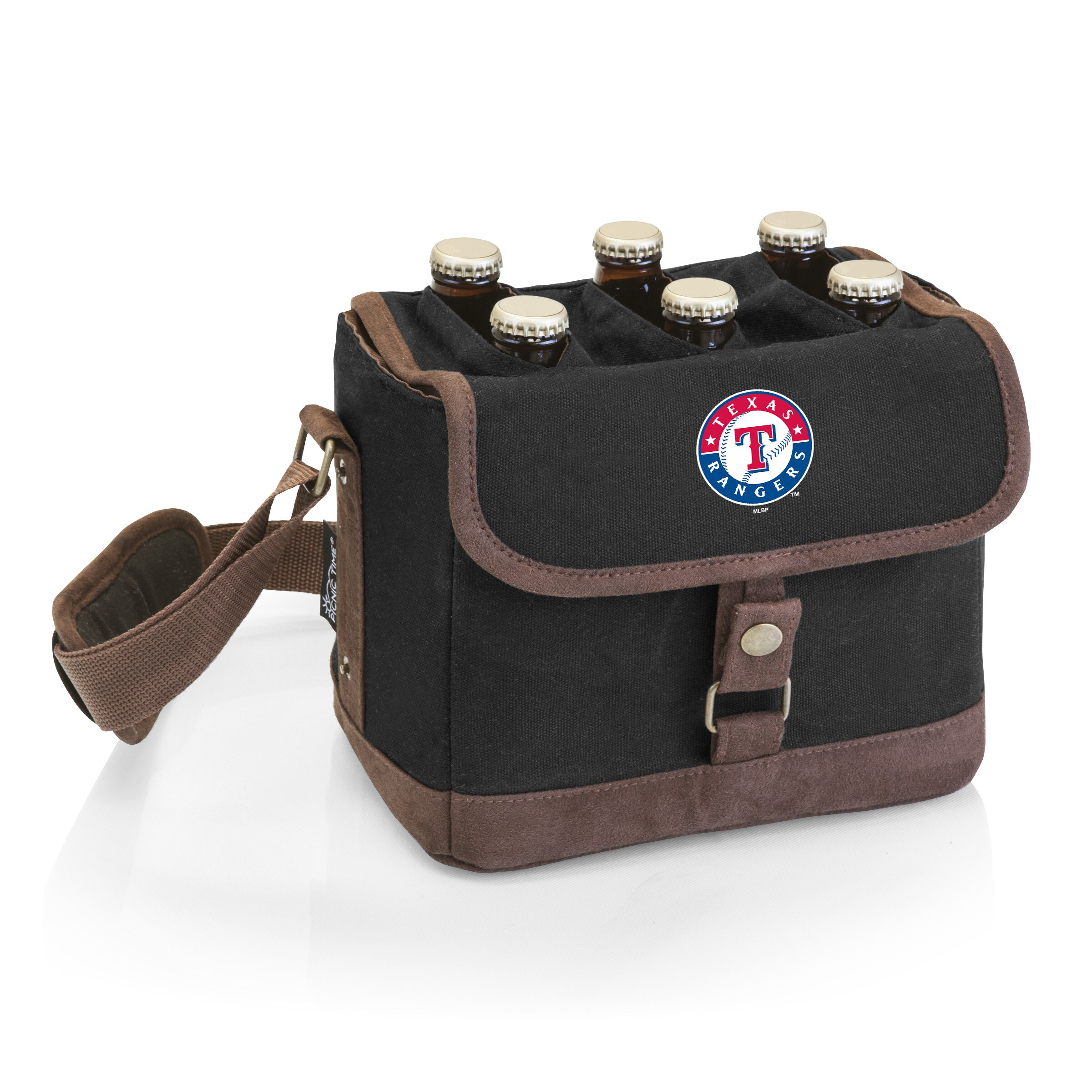 Texas Rangers Beer Caddy Cooler Tote with Opener