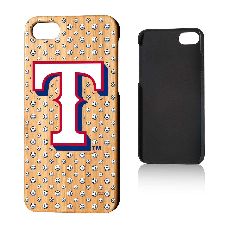 Texas Rangers iPhone 7/8 Baseball Bamboo Case