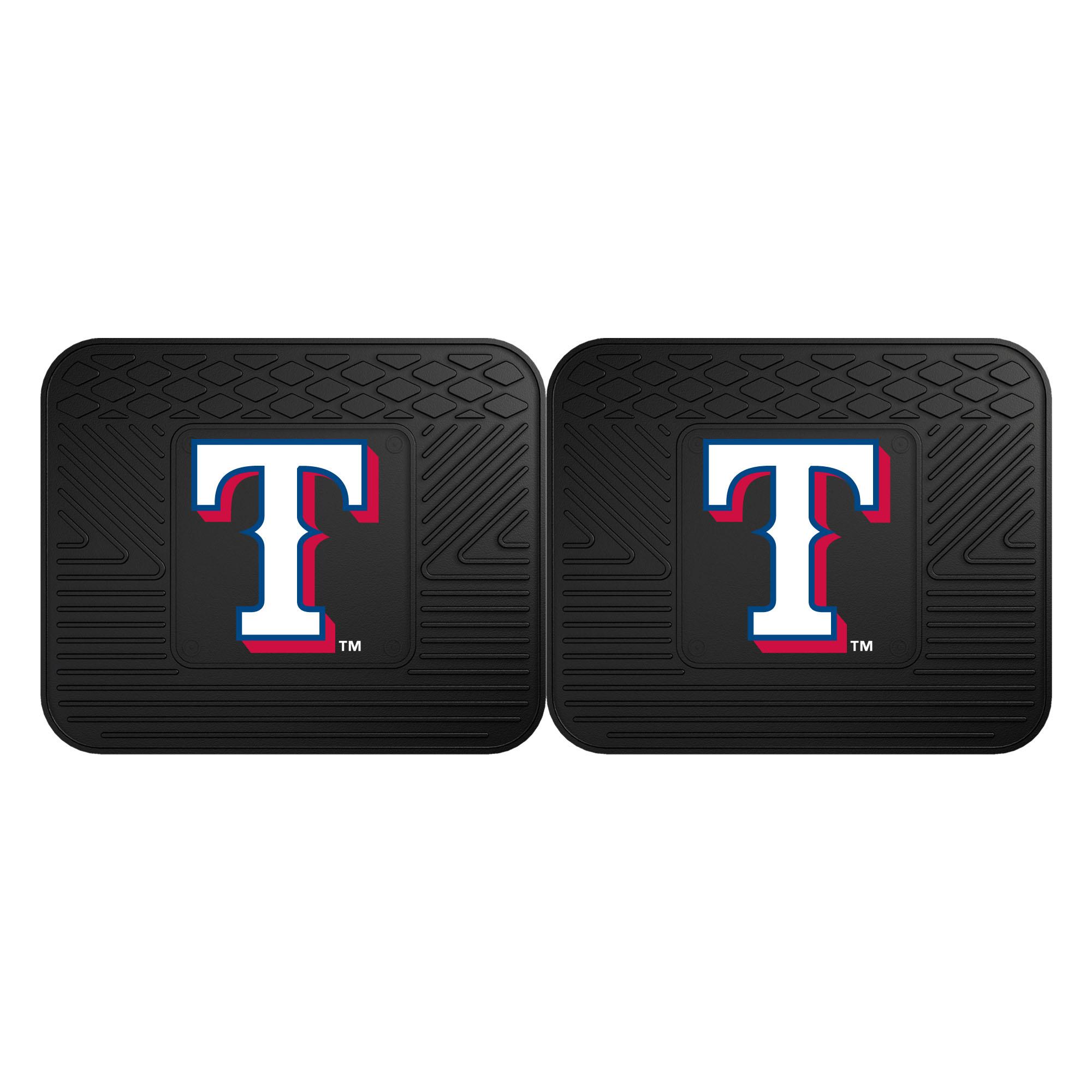 Texas Rangers 2-Pack Utility Mat Set