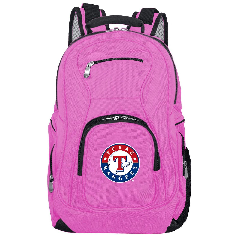 Texas Rangers Backpack Laptop - Pink