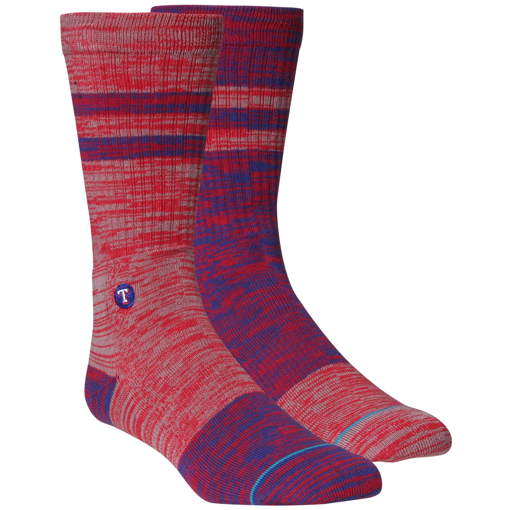 Texas Rangers Greystone Crew Socks