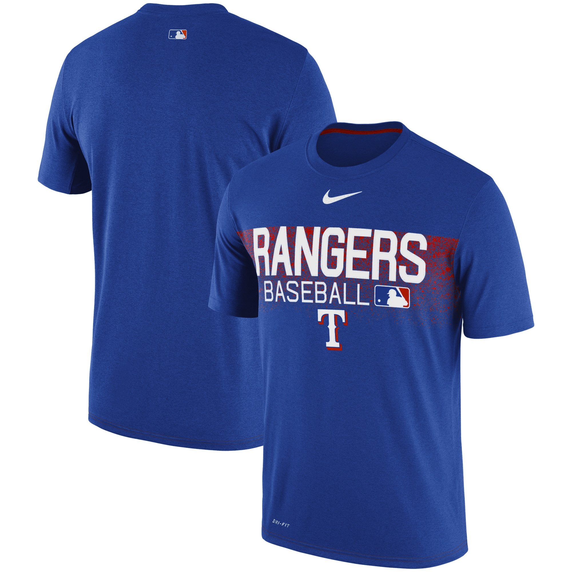 Texas Rangers Nike Authentic Collection Legend Team Issued Performance T-Shirt - Royal