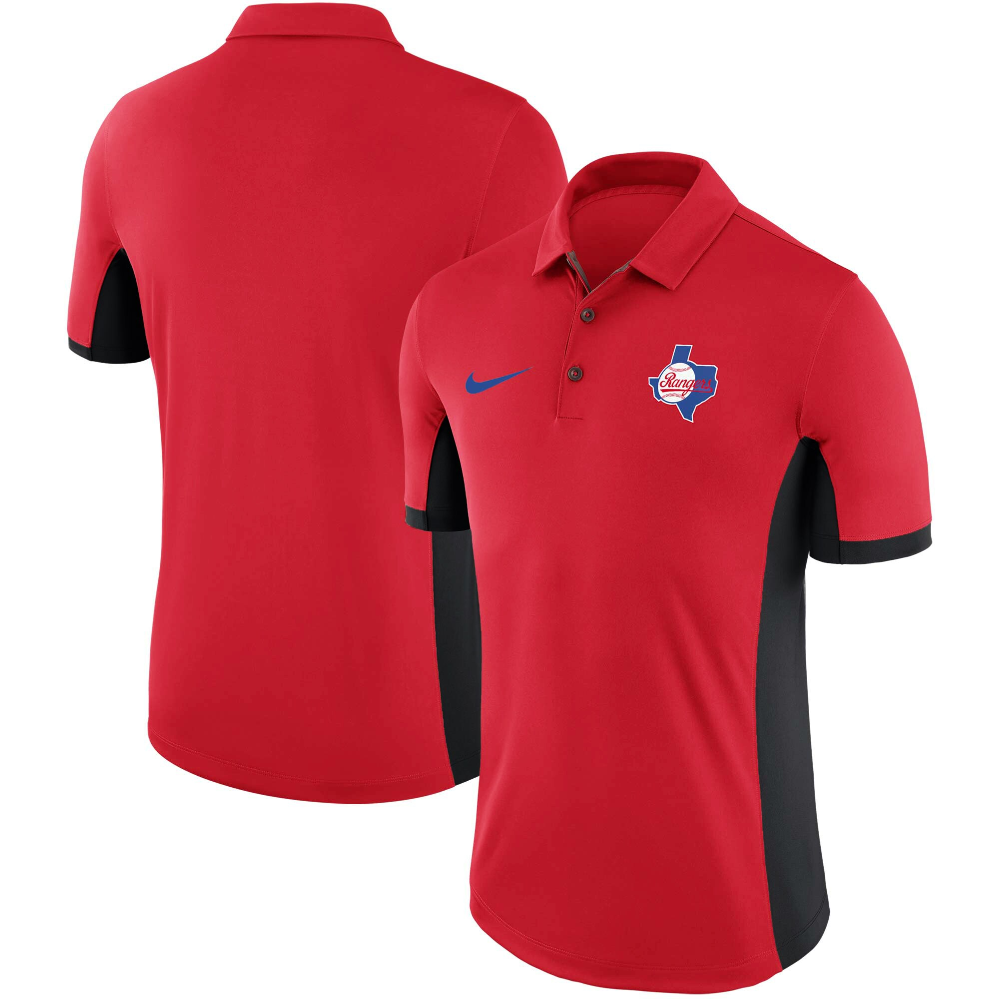 Texas Rangers Nike Performance Franchise Polo - Red