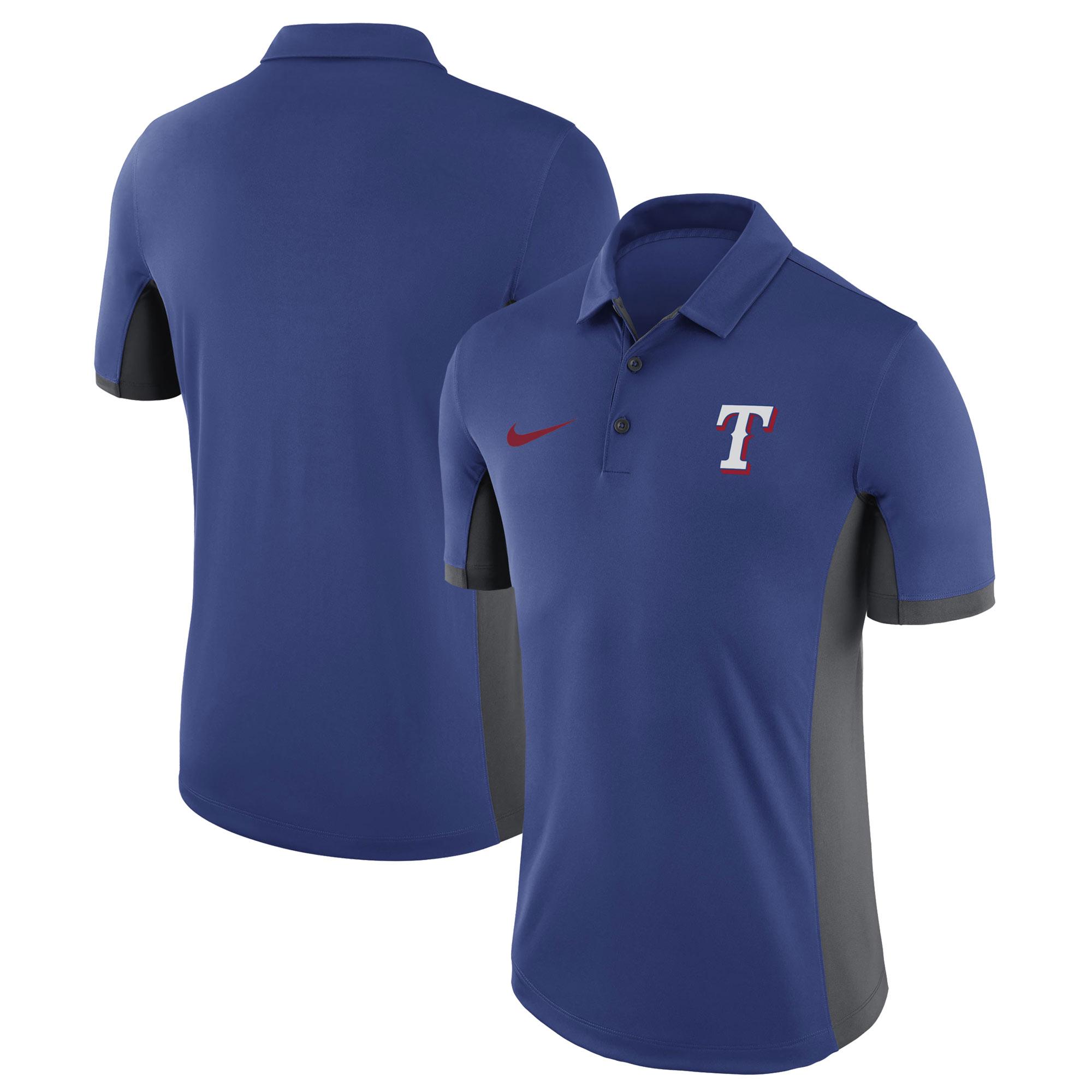 Texas Rangers Nike Franchise Performance Polo - Royal
