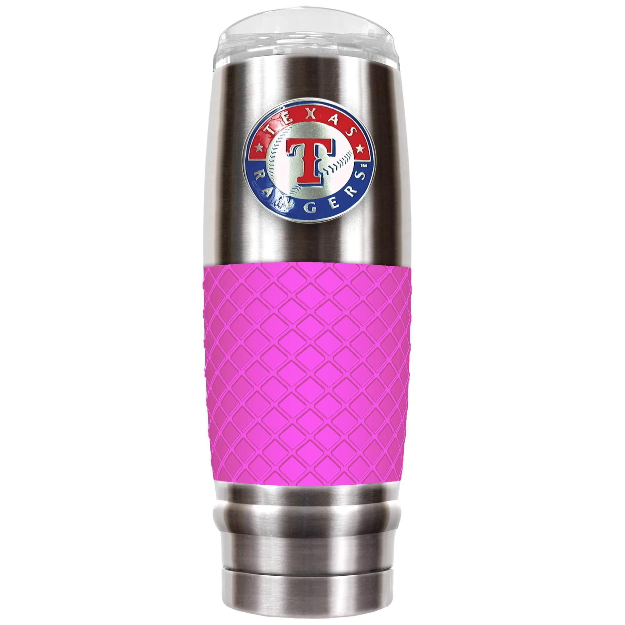 Texas Rangers 30oz. The Reserve Vacuum-Insulated Travel Tumbler - Pink