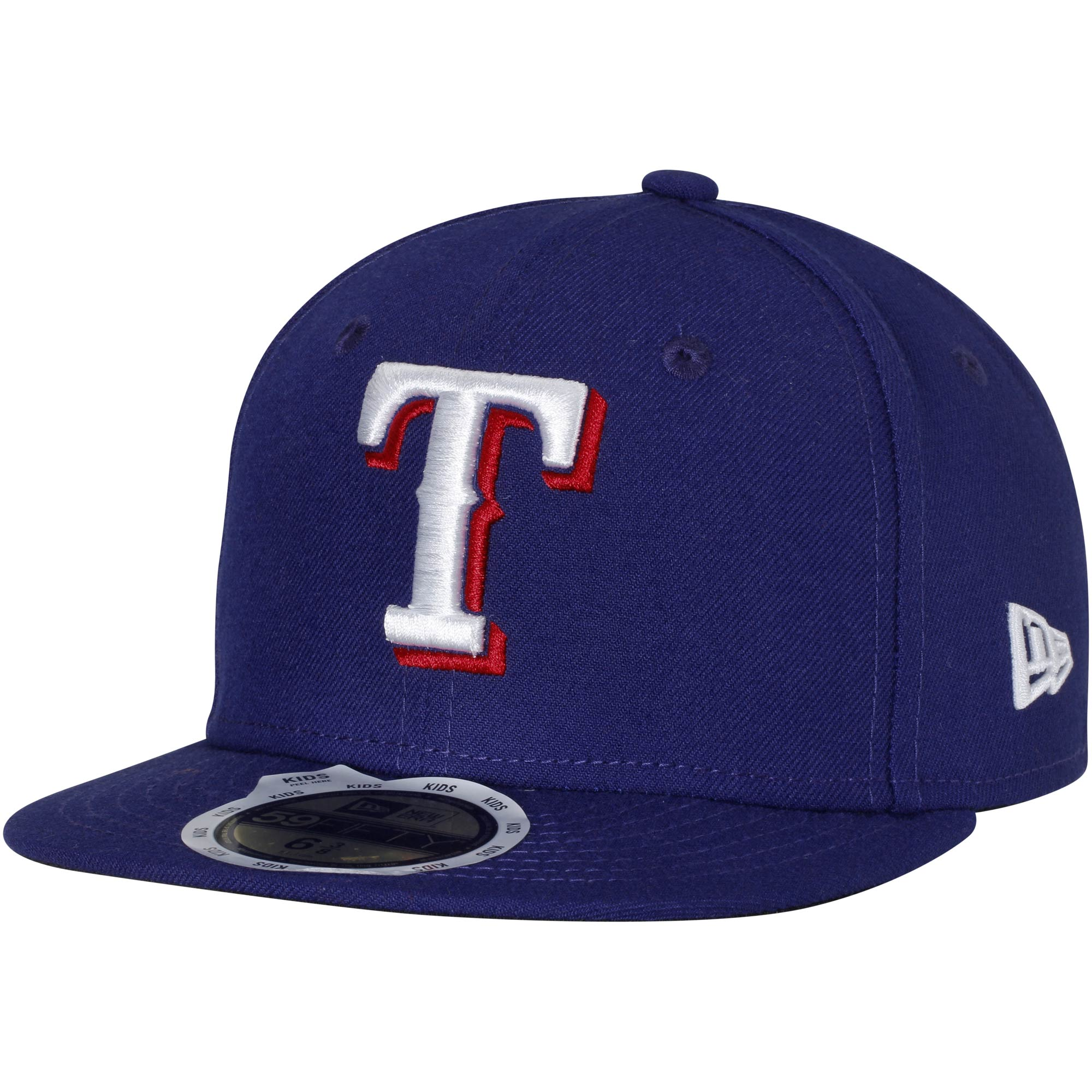Texas Rangers New Era Youth Authentic Collection On-Field Game 59FIFTY Fitted Hat - Royal