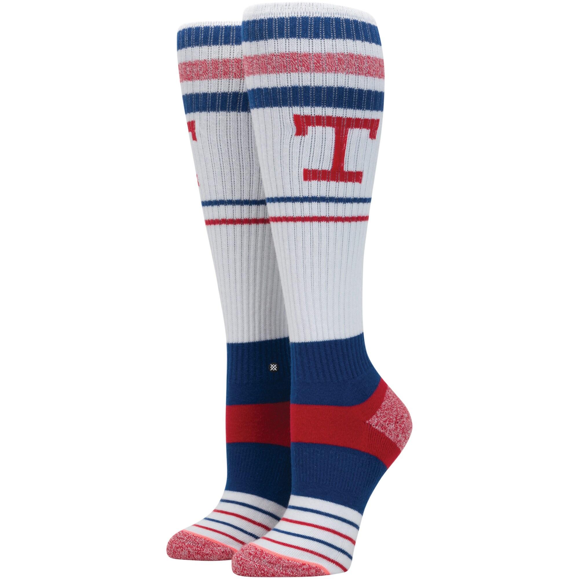 Texas Rangers Stance Women's Tall Boot Tube Socks