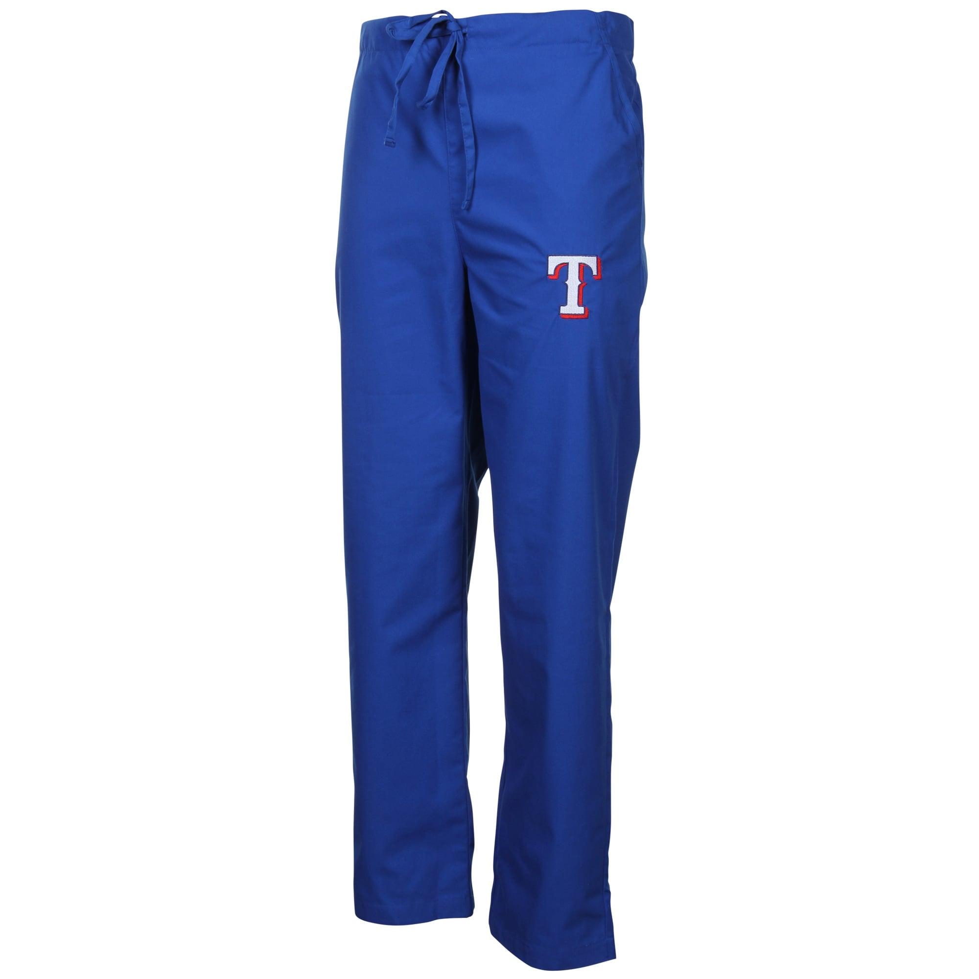 Texas Rangers Unisex Scrub Pants - Royal Blue