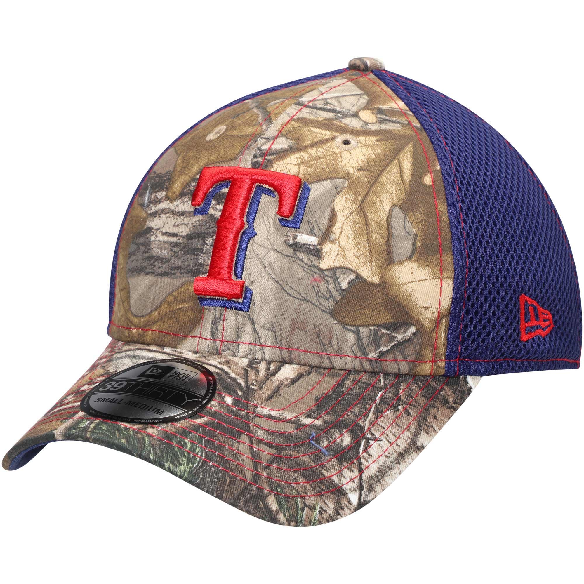 Texas Rangers New Era Neo 39THIRTY Flex Hat - Realtree Camo