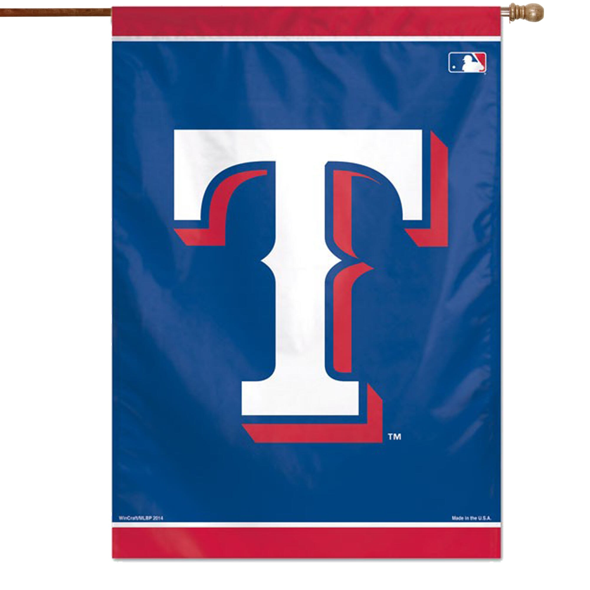 "Texas Rangers WinCraft 28"" x 40"" Double-Sided Vertical Banner"
