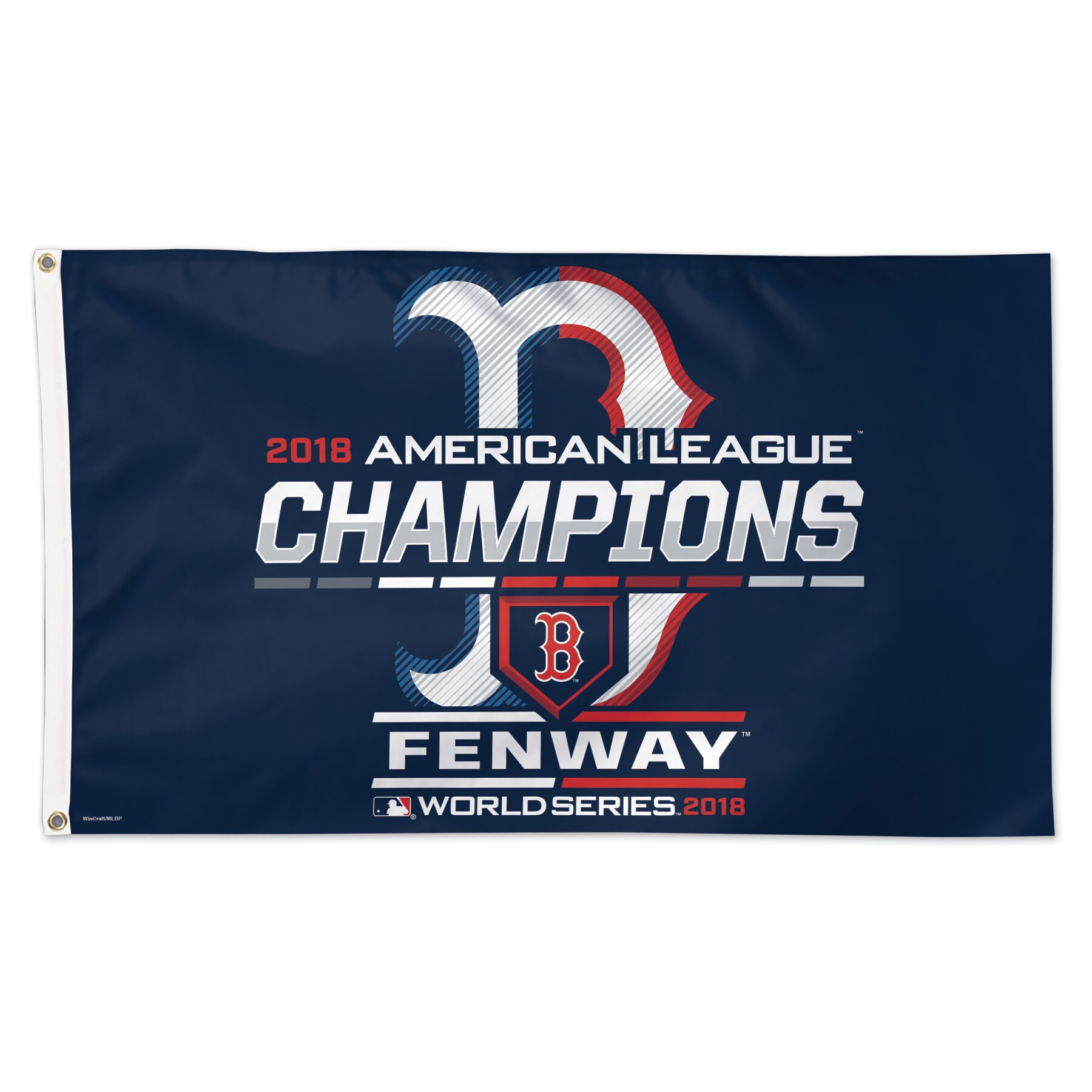 Boston Red Sox WinCraft 2018 American League Champions On-Field Celebration 1-Sided 3' x 5' Deluxe Flag