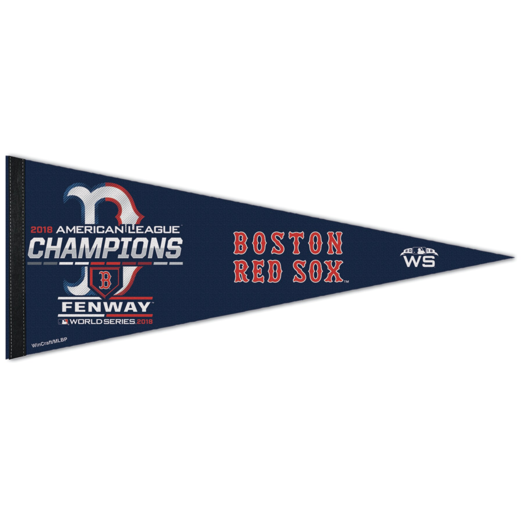 "Boston Red Sox WinCraft 2018 American League Champions On-Field Locker Room Celebration 12"" x 30"" Pennant"