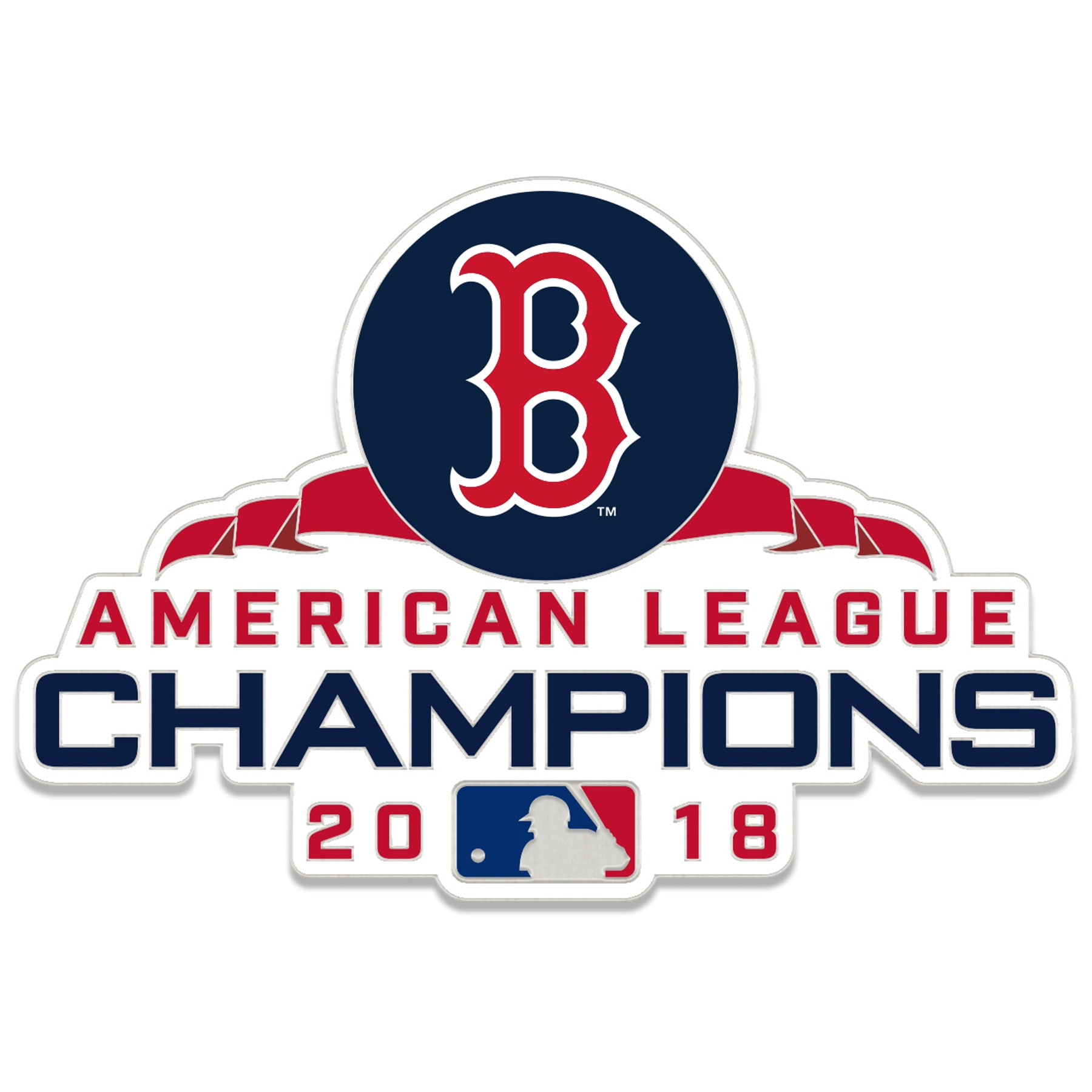 Boston Red Sox WinCraft 2018 American League Champions Collector Pin