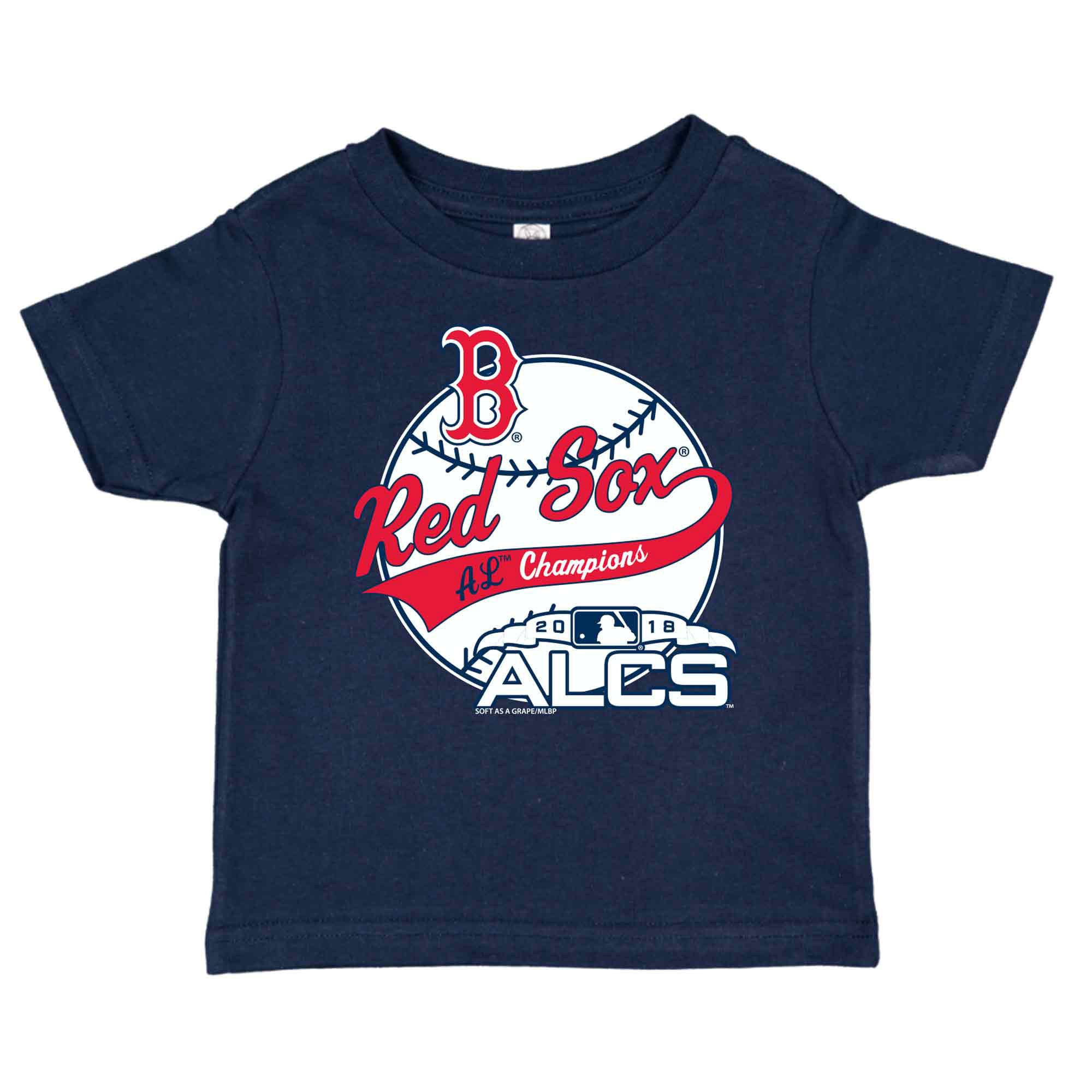 Boston Red Sox Soft as a Grape Toddler 2018 American League Champions T-Shirt - Navy