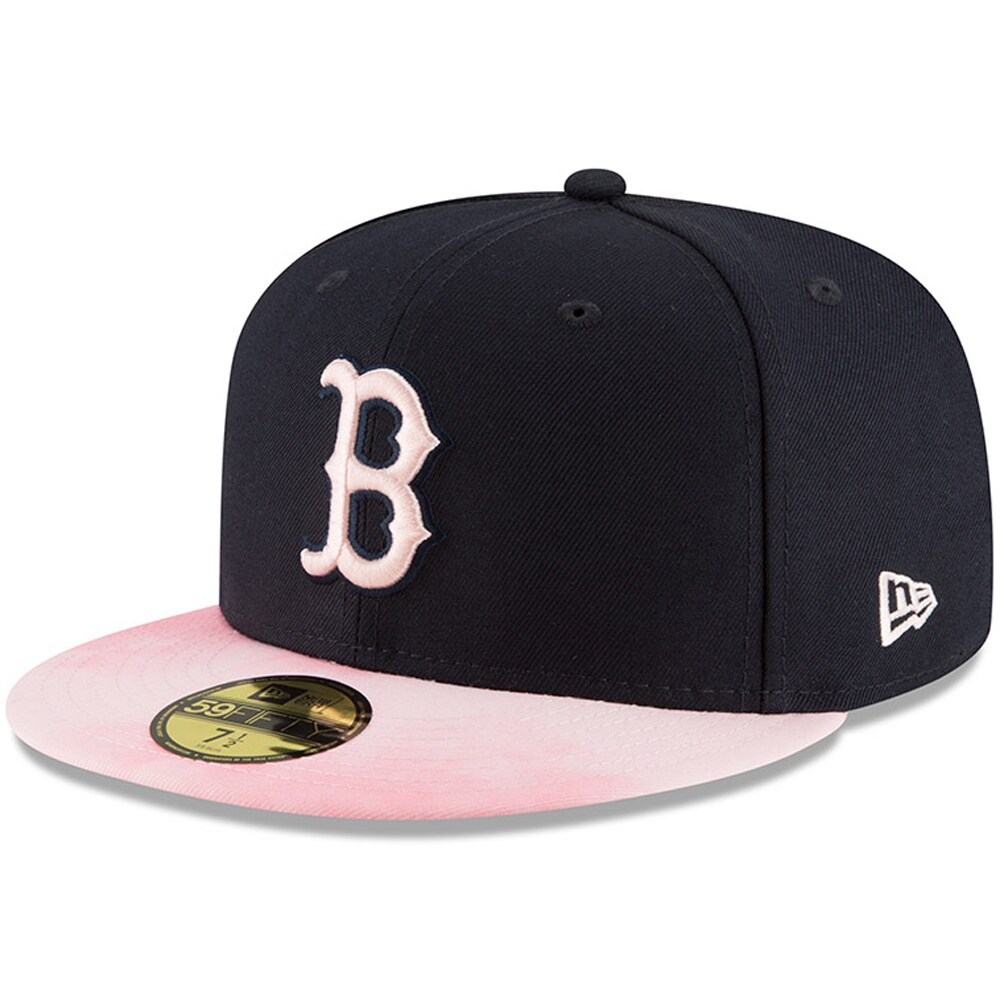 Boston Red Sox New Era 2019 Mother's Day On-Field 59FIFTY Fitted Hat - Navy/Pink