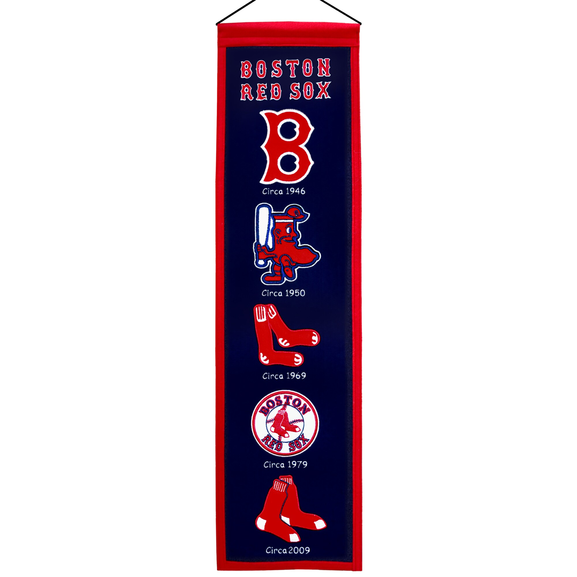 "Boston Red Sox 8"" x 32"" Heritage Banner"