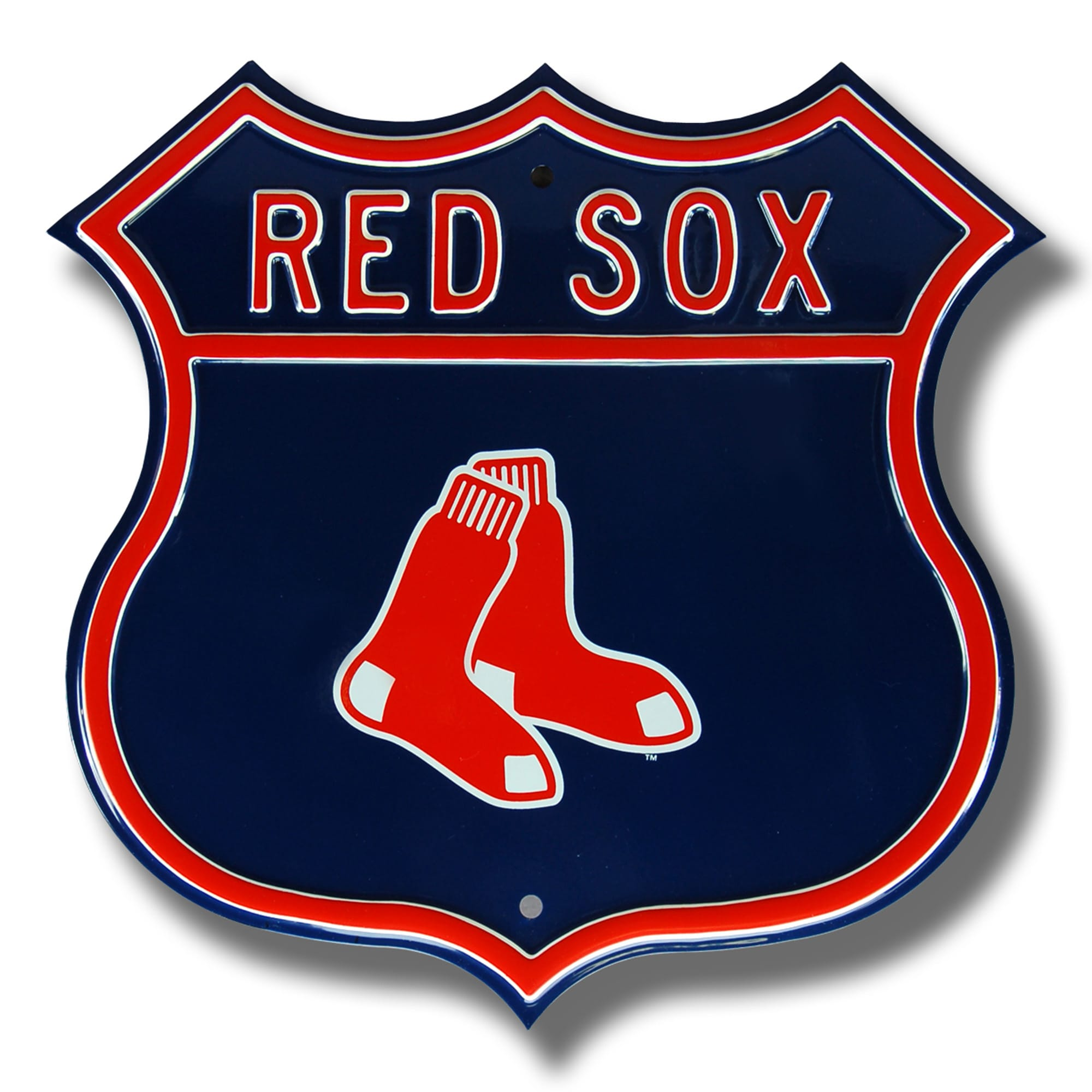 "Boston Red Sox Primary 16"" Route Sign"