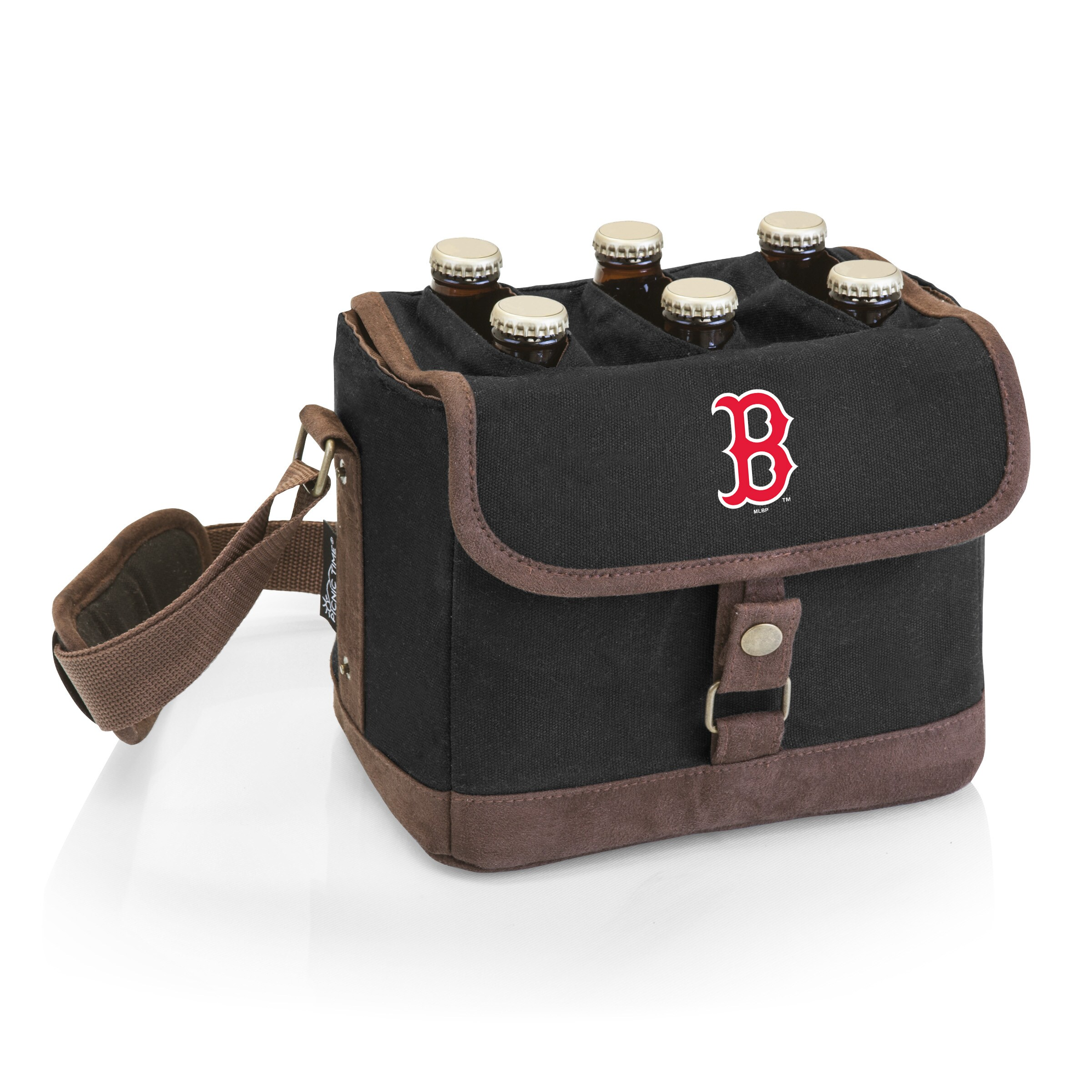Boston Red Sox Beer Caddy Cooler Tote with Opener