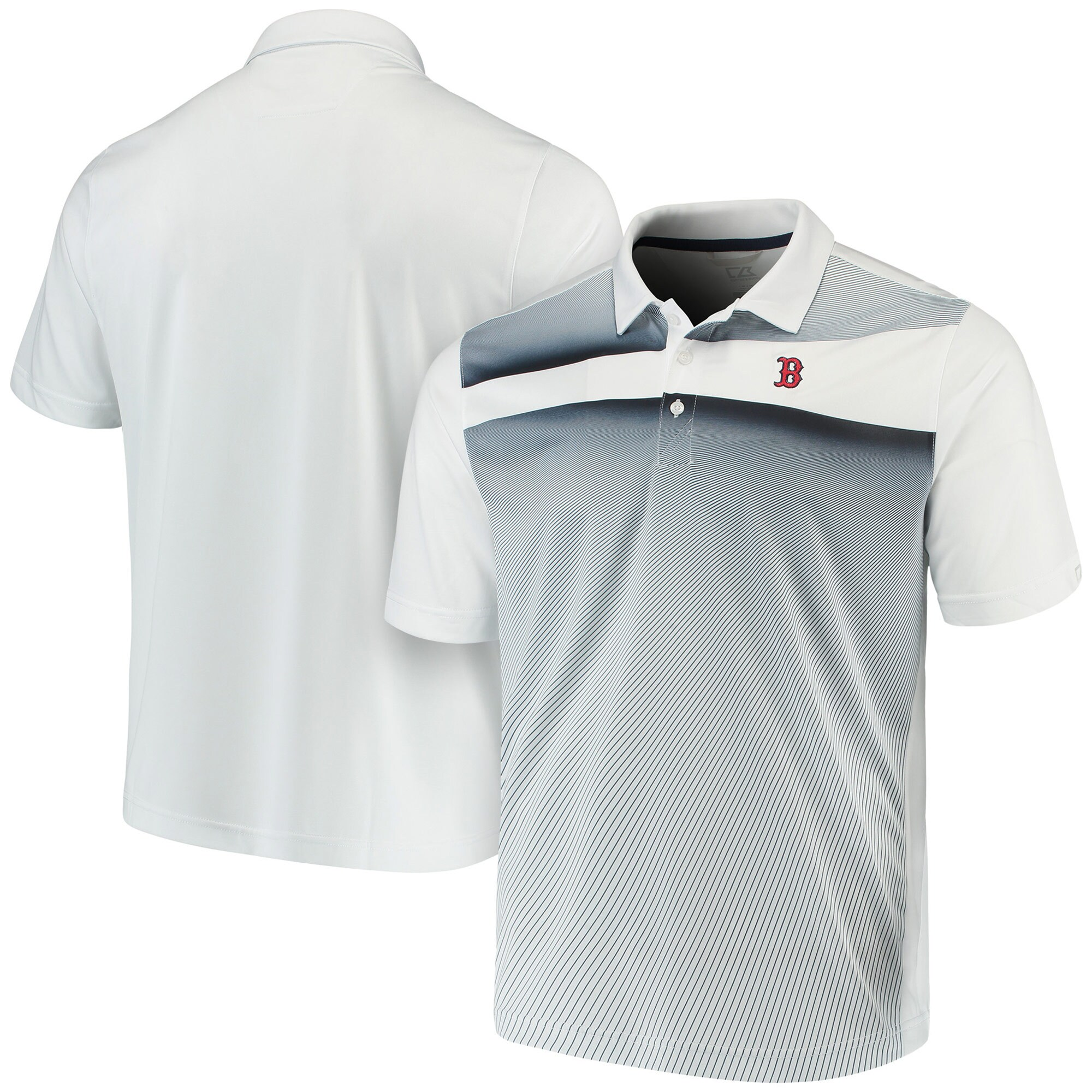 Boston Red Sox Cutter & Buck Ascend Polo - Navy