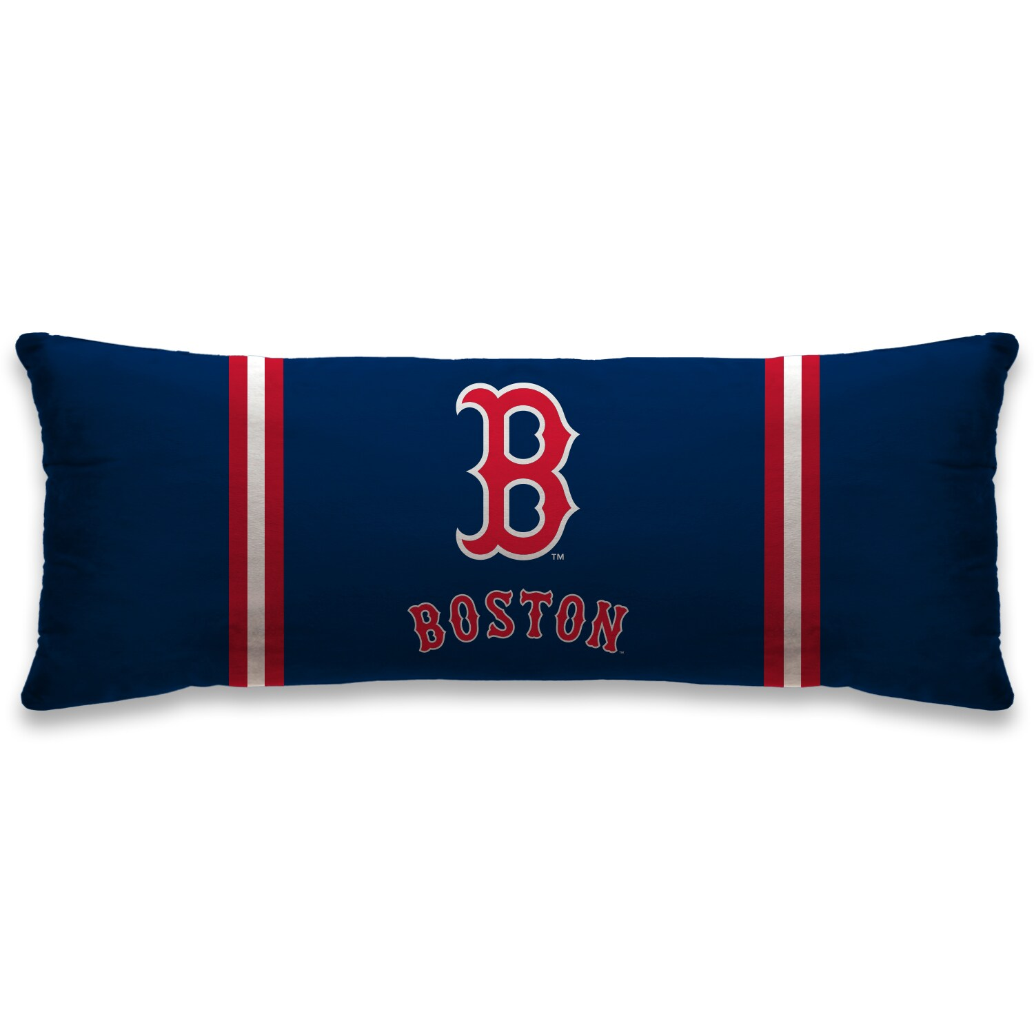 "Boston Red Sox 20"" x 48"" Plush Body Pillow - Blue"