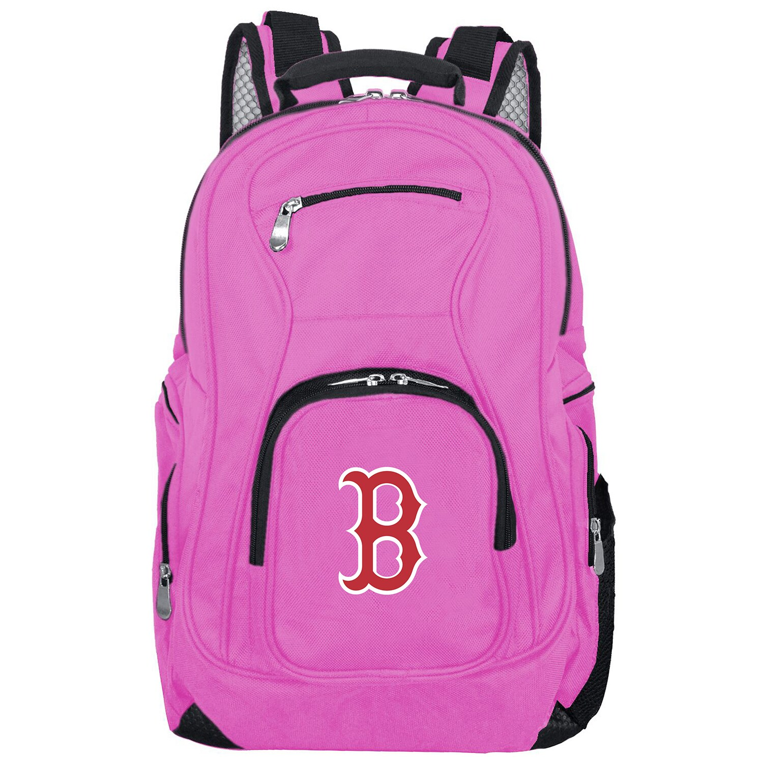 Boston Red Sox Backpack Laptop - Pink