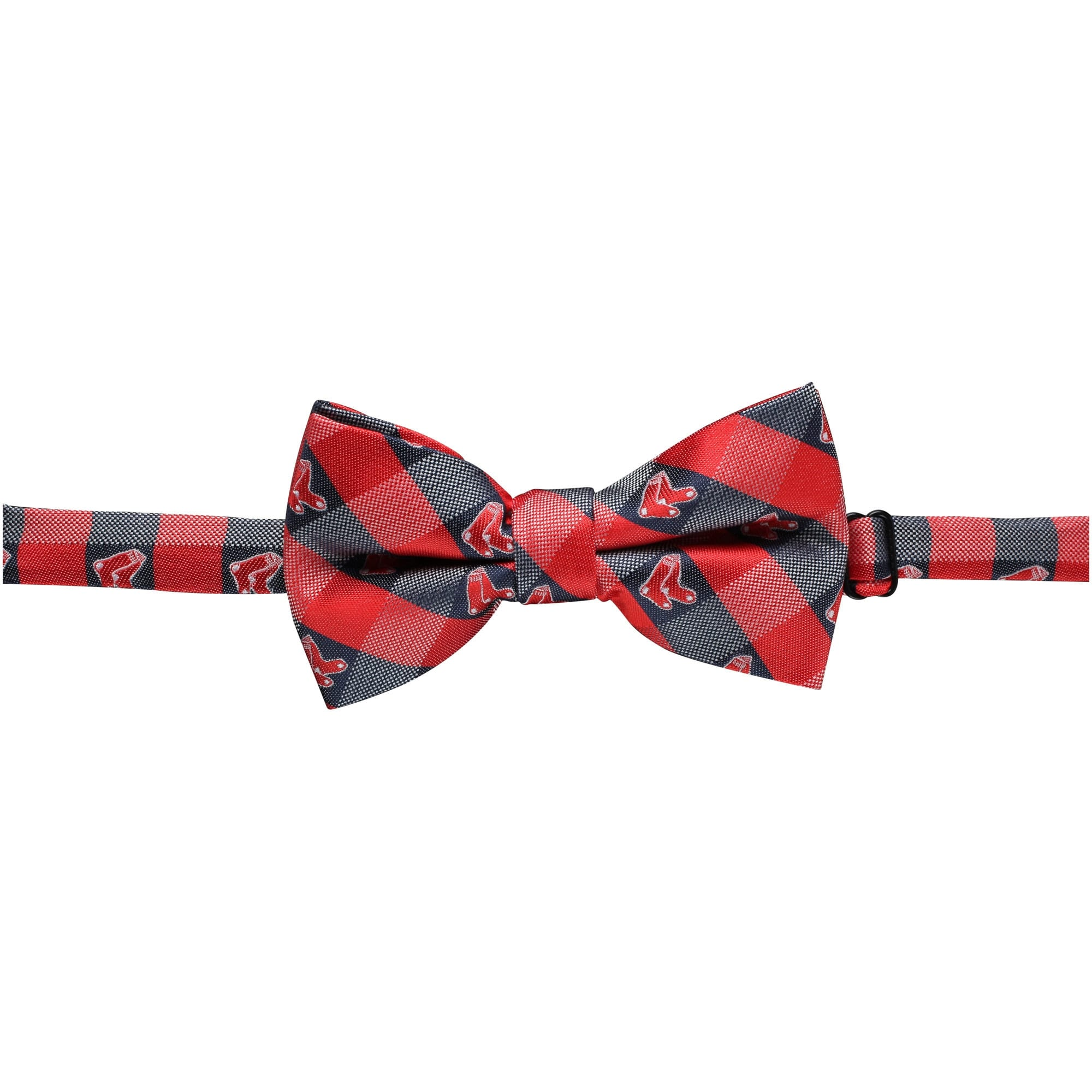 Boston Red Sox Check Bow Tie