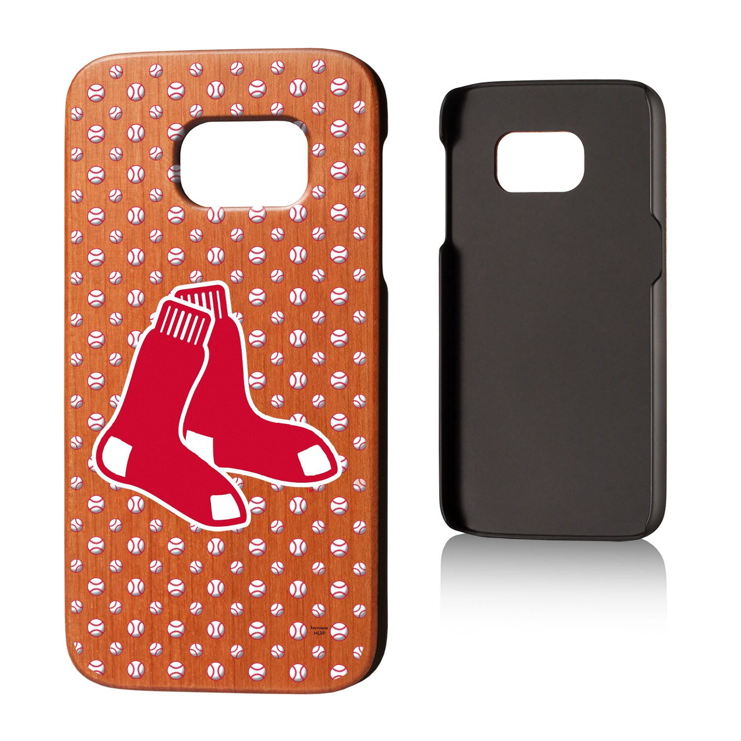 Boston Red Sox Galaxy S7 Cherry Wood Case
