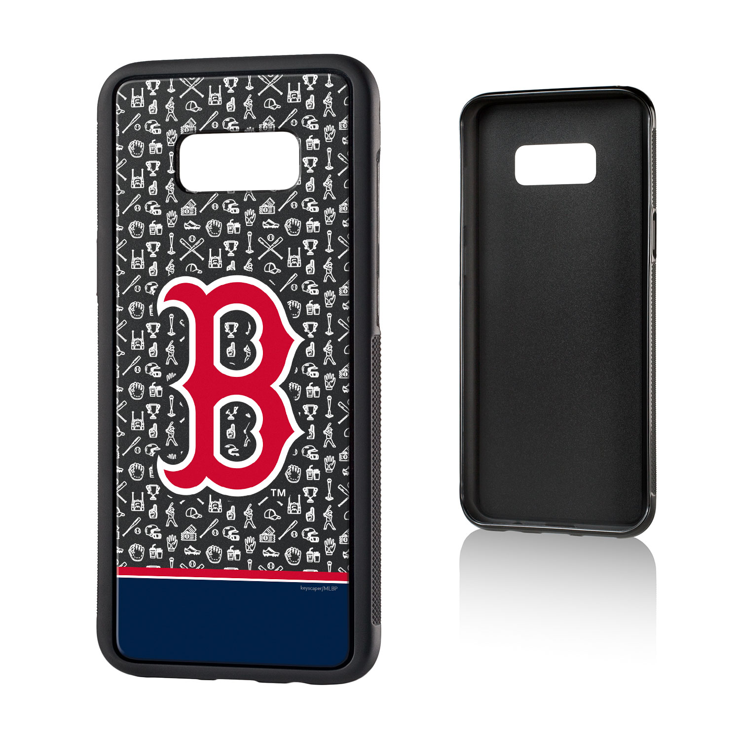 Boston Red Sox Galaxy S8 Plus Stripe Bump Case