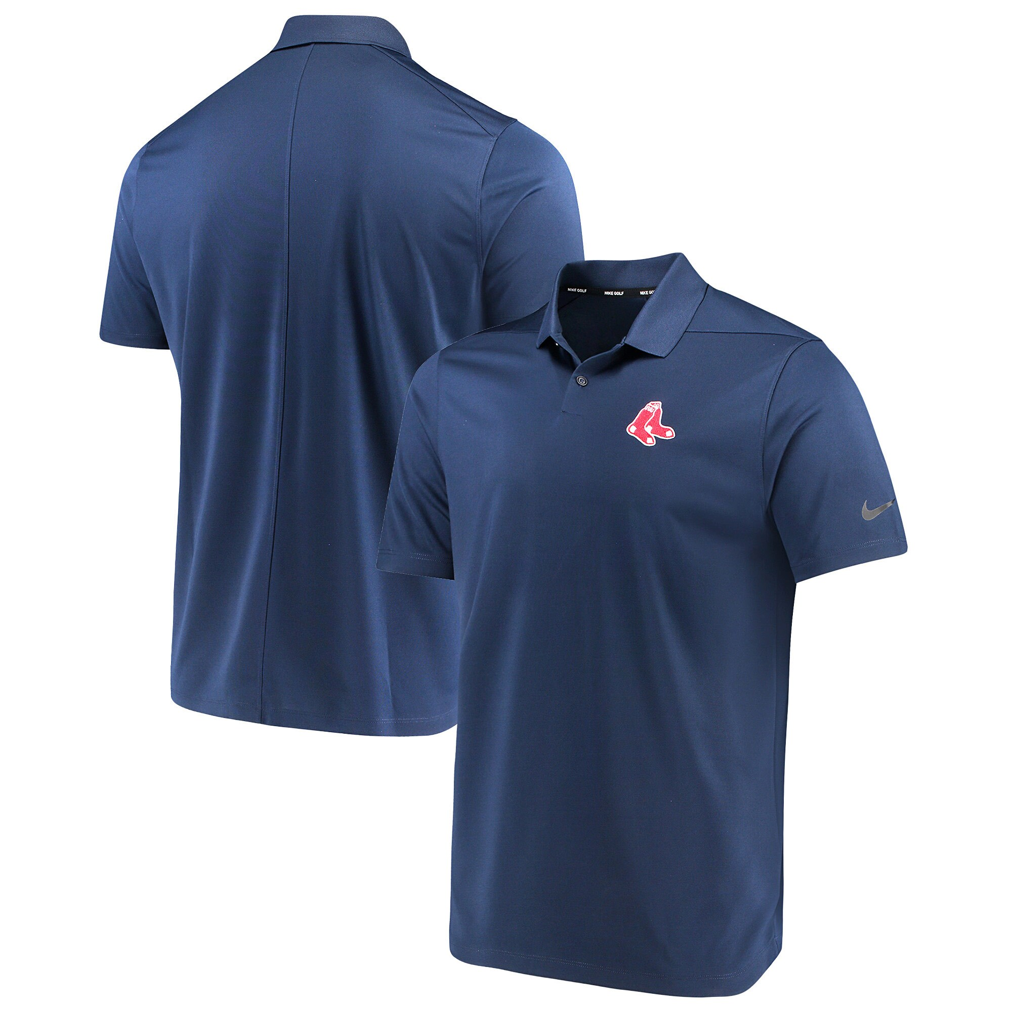 Boston Red Sox Nike Golf Solid Victory Performance Polo - Navy