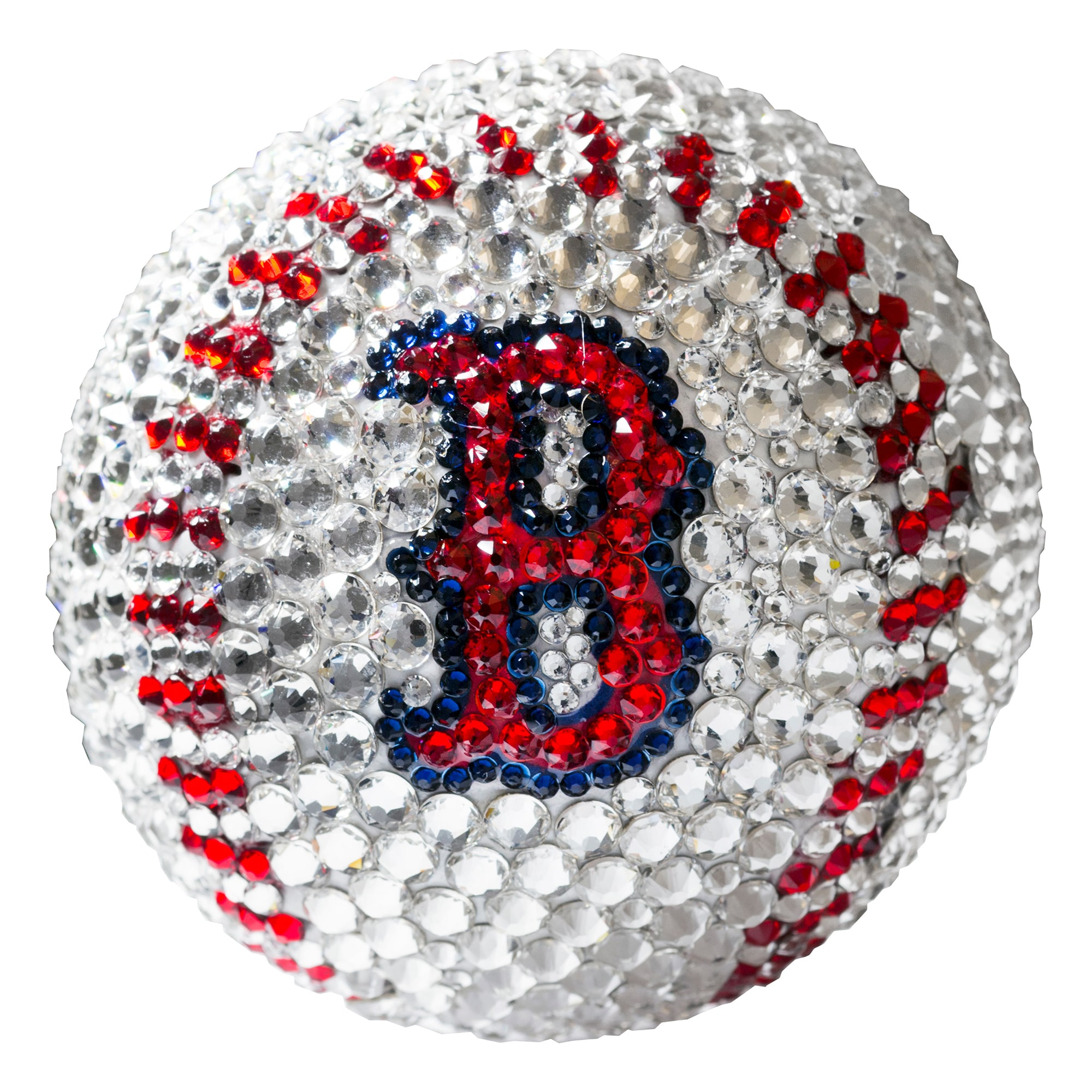 Boston Red Sox Crystal Baseball