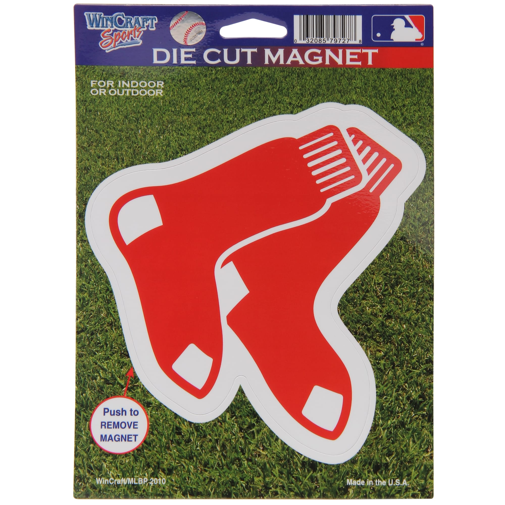 "Boston Red Sox WinCraft 6"" x 9"" Car Magnet"