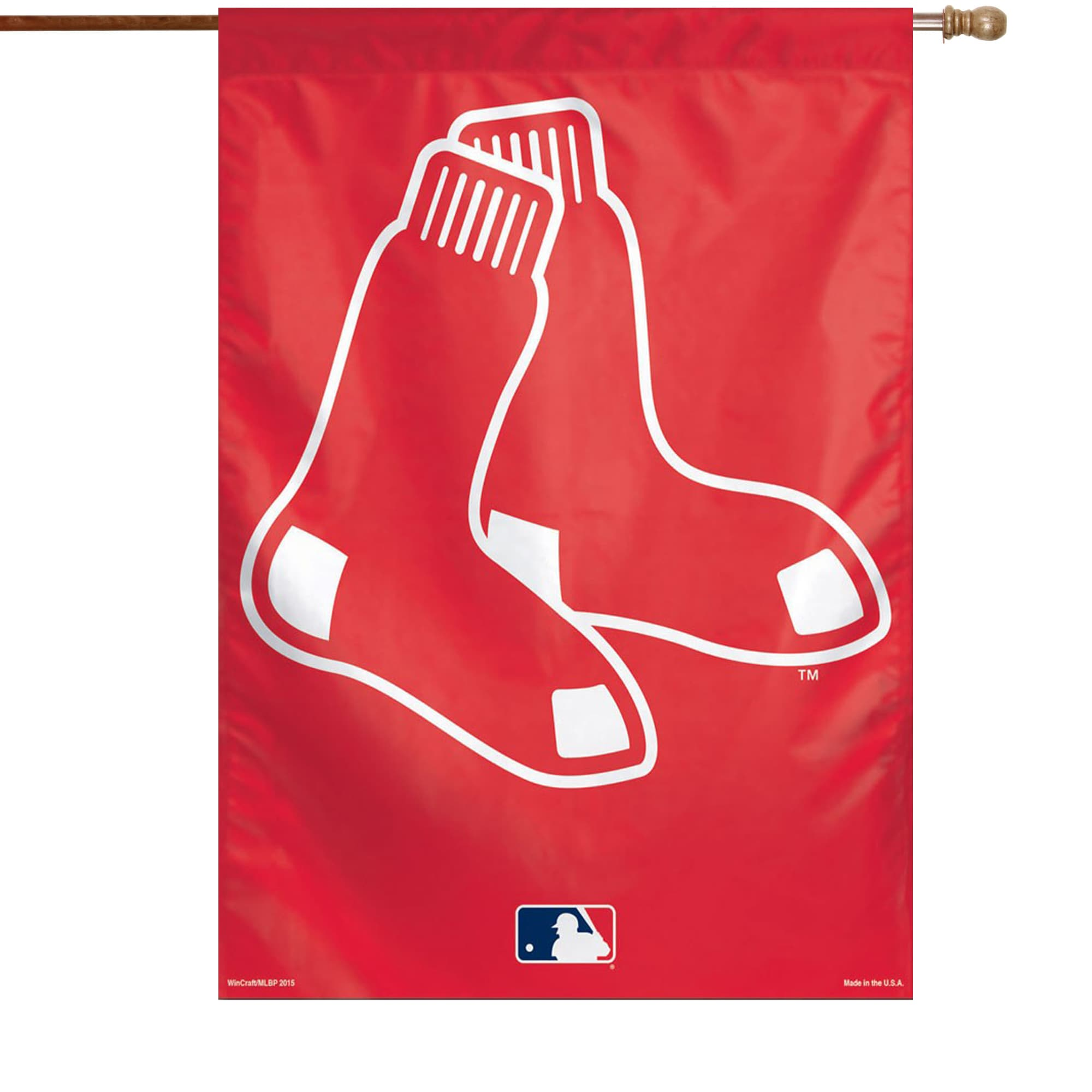 "Boston Red Sox WinCraft 28"" x 40"" Big Logo Single-Sided Vertical Banner"