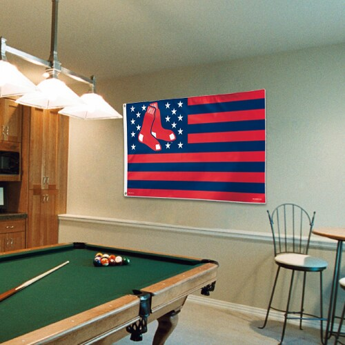 Boston Red Sox WinCraft Deluxe Stars & Stripes 3' x 5' Flag