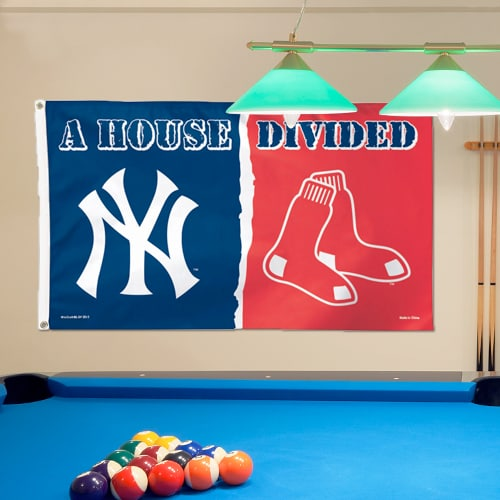 New York Yankees/Boston Red Sox WinCraft Deluxe 3' x 5' House Divided Flag