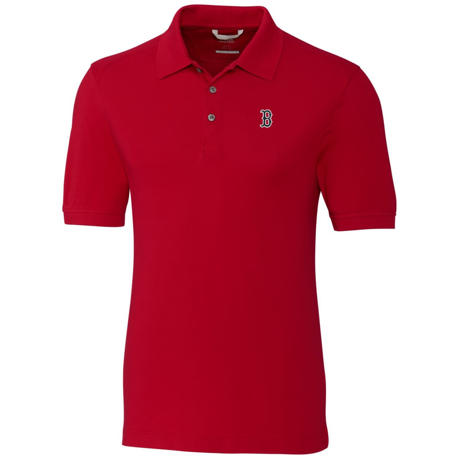 Boston Red Sox Cutter & Buck Big & Tall Advantage Polo - Red