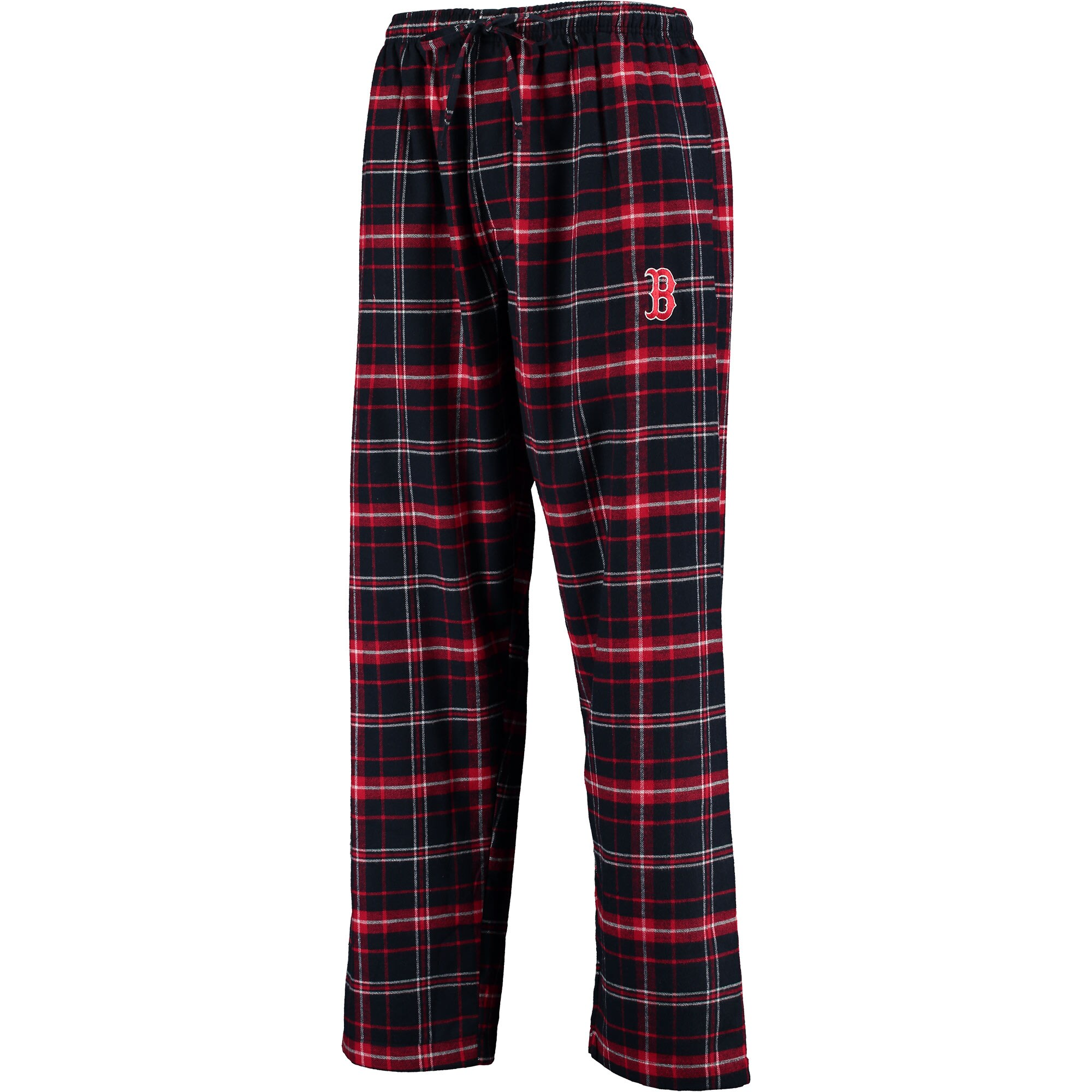 Boston Red Sox Concepts Sport Ultimate Plaid Flannel Pants - Navy/Red