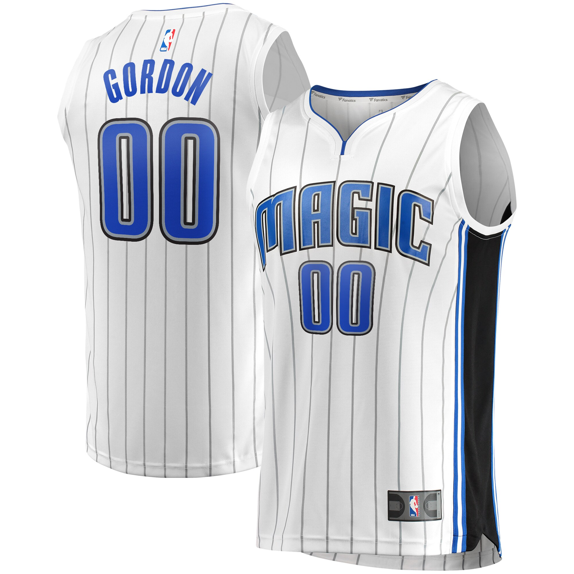 Aaron Gordon Orlando Magic Fanatics Branded Fast Break Replica Player Jersey - White - Association Edition