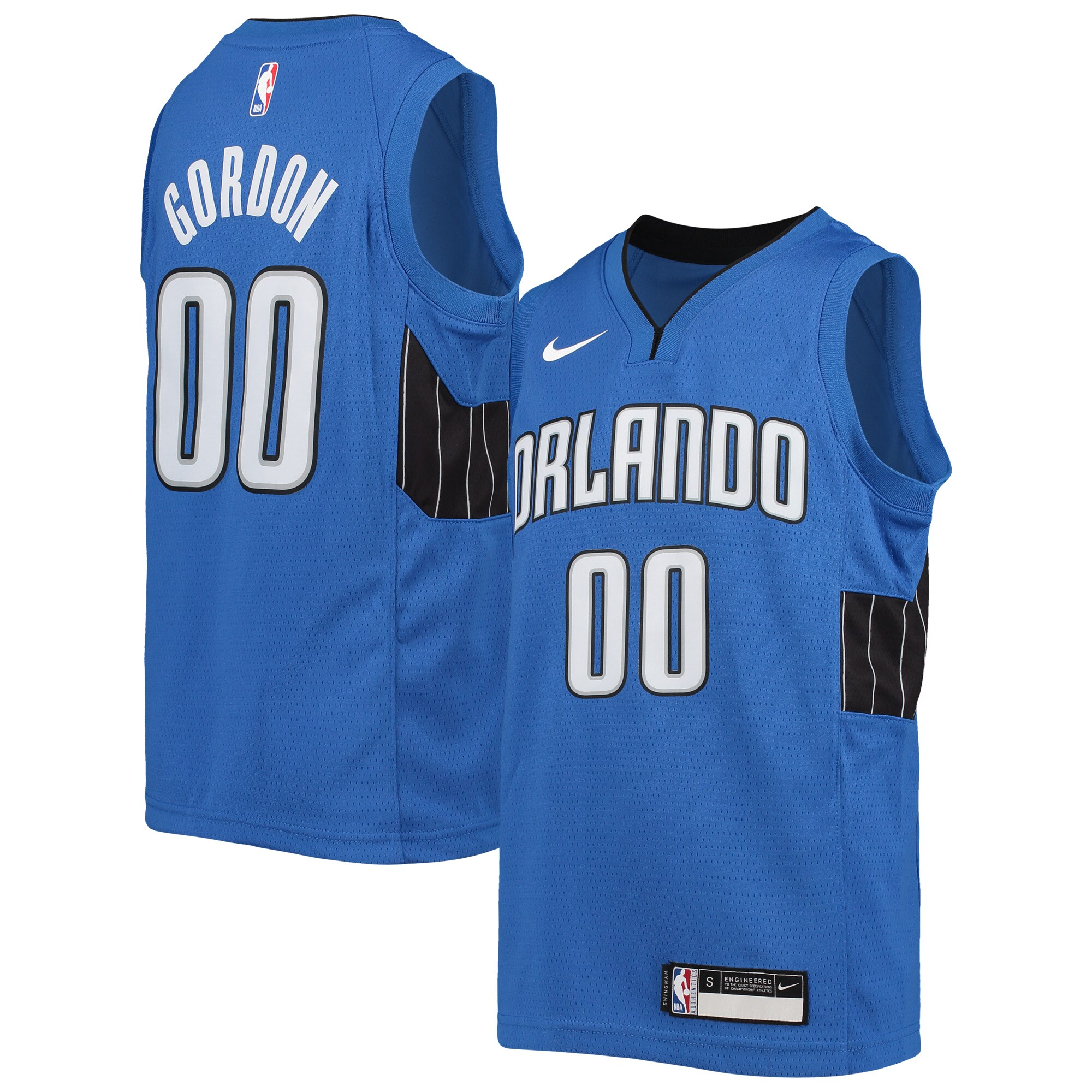 Aaron Gordon Orlando Magic Nike Youth Swingman Player Jersey - Statement Edition - Blue