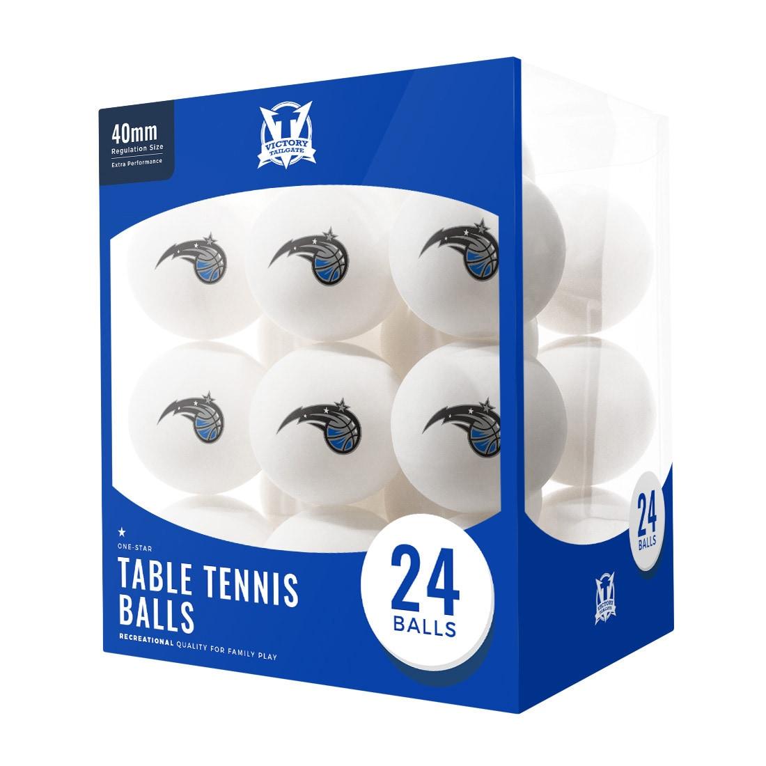 Orlando Magic 24-Count Logo Table Tennis Balls