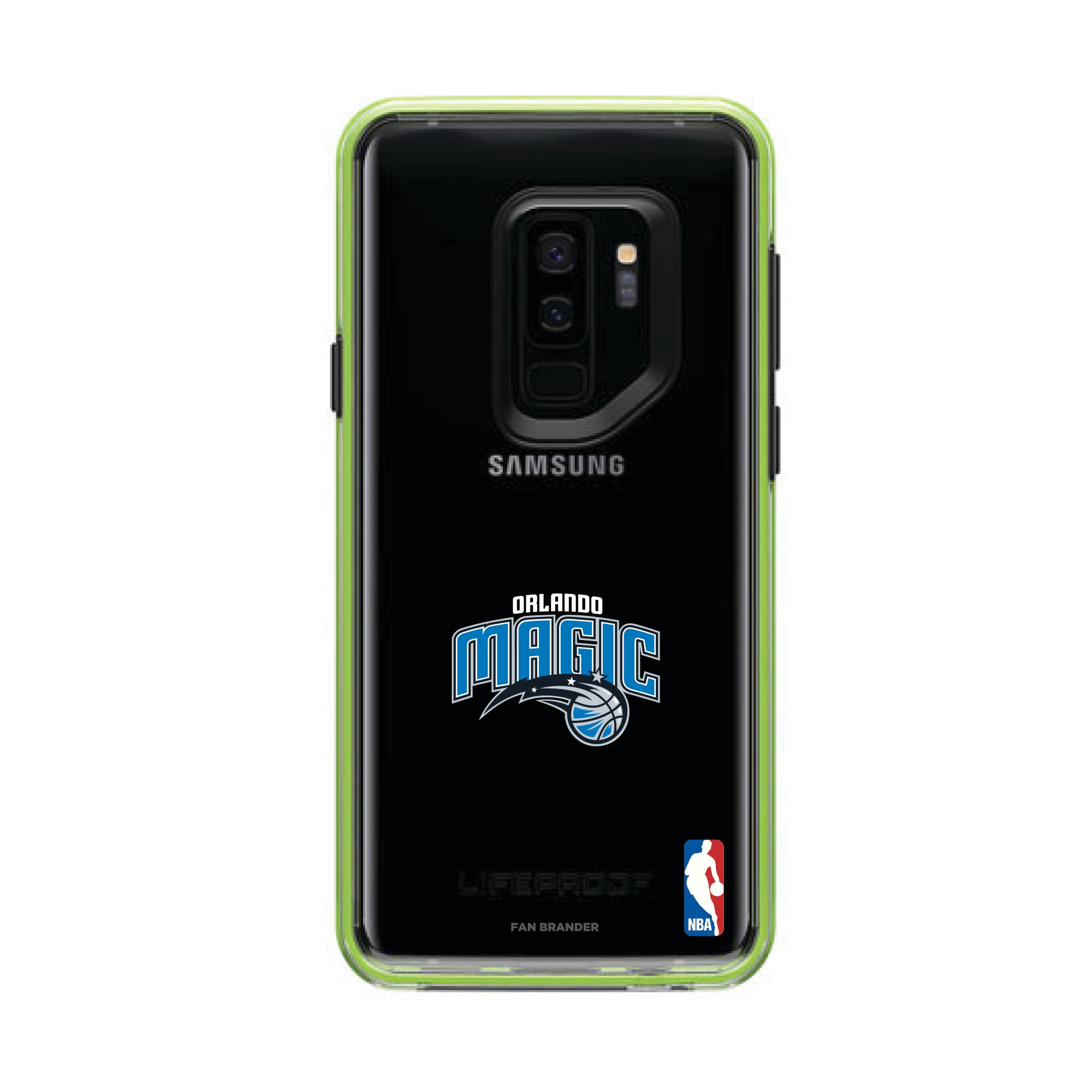 Orlando Magic LifeProof Night Flash Primary Logo Galaxy Case
