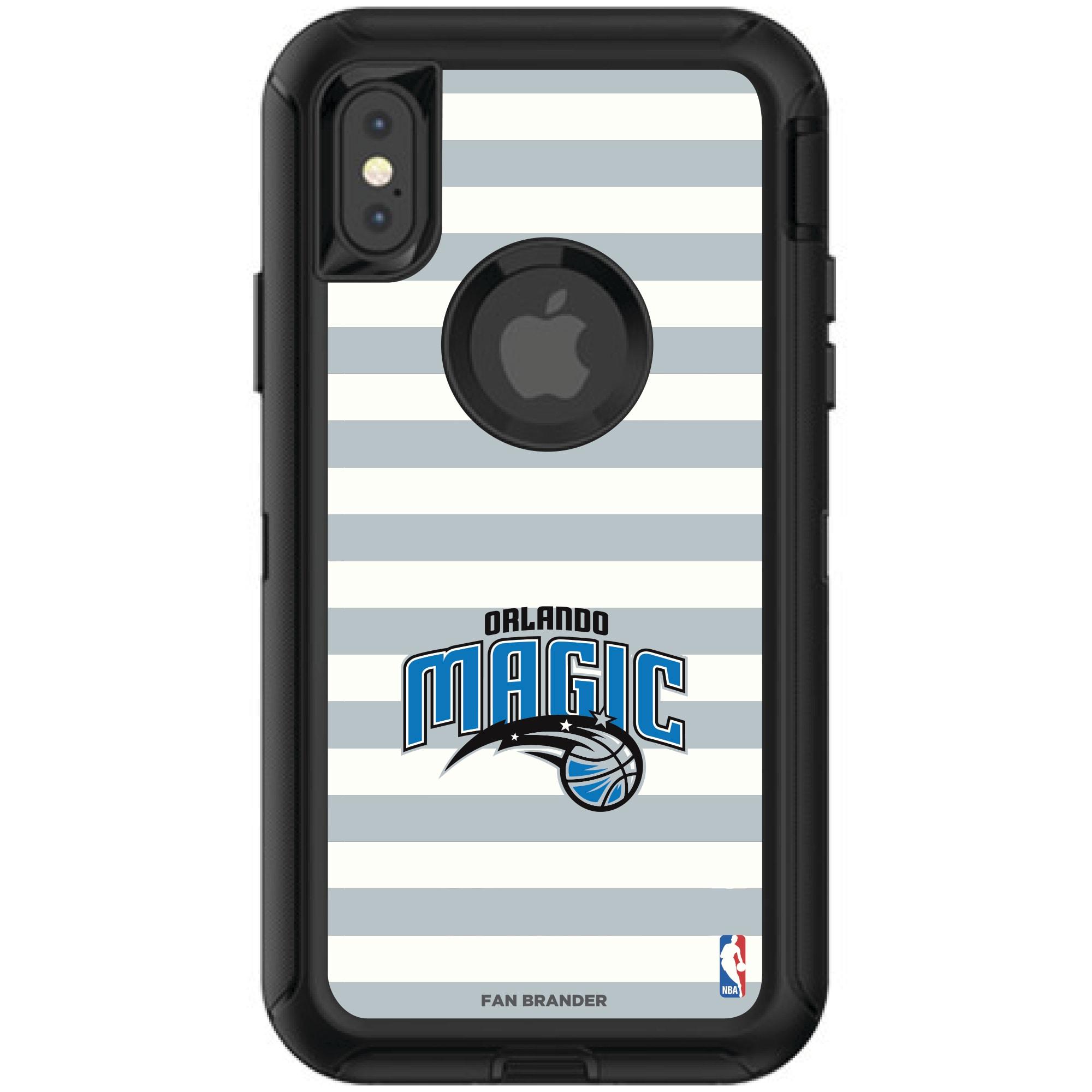 Orlando Magic OtterBox iPhone Defender Striped Design Case