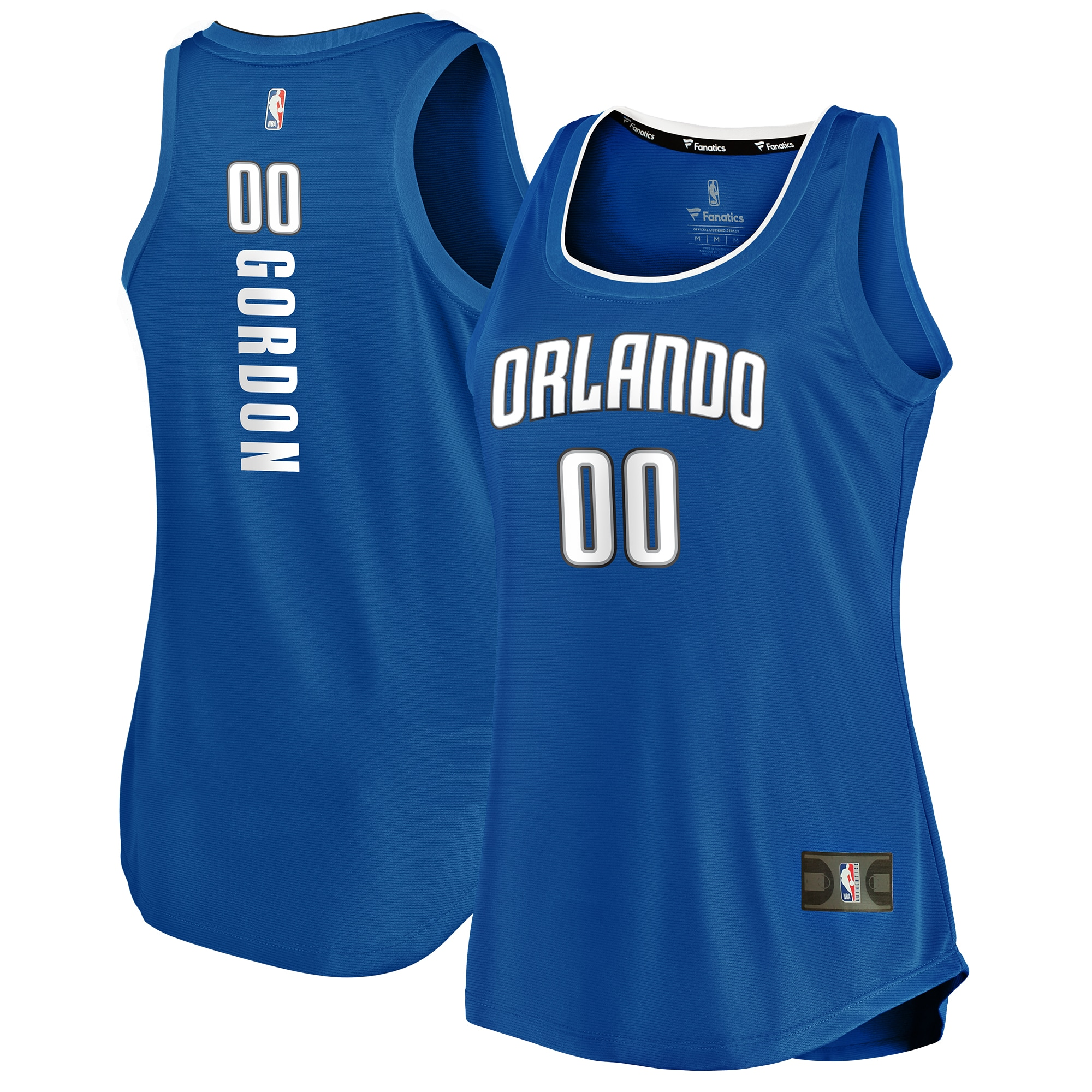 Aaron Gordon Orlando Magic Fanatics Branded Women's Fast Break Tank Jersey - Icon Edition - Blue