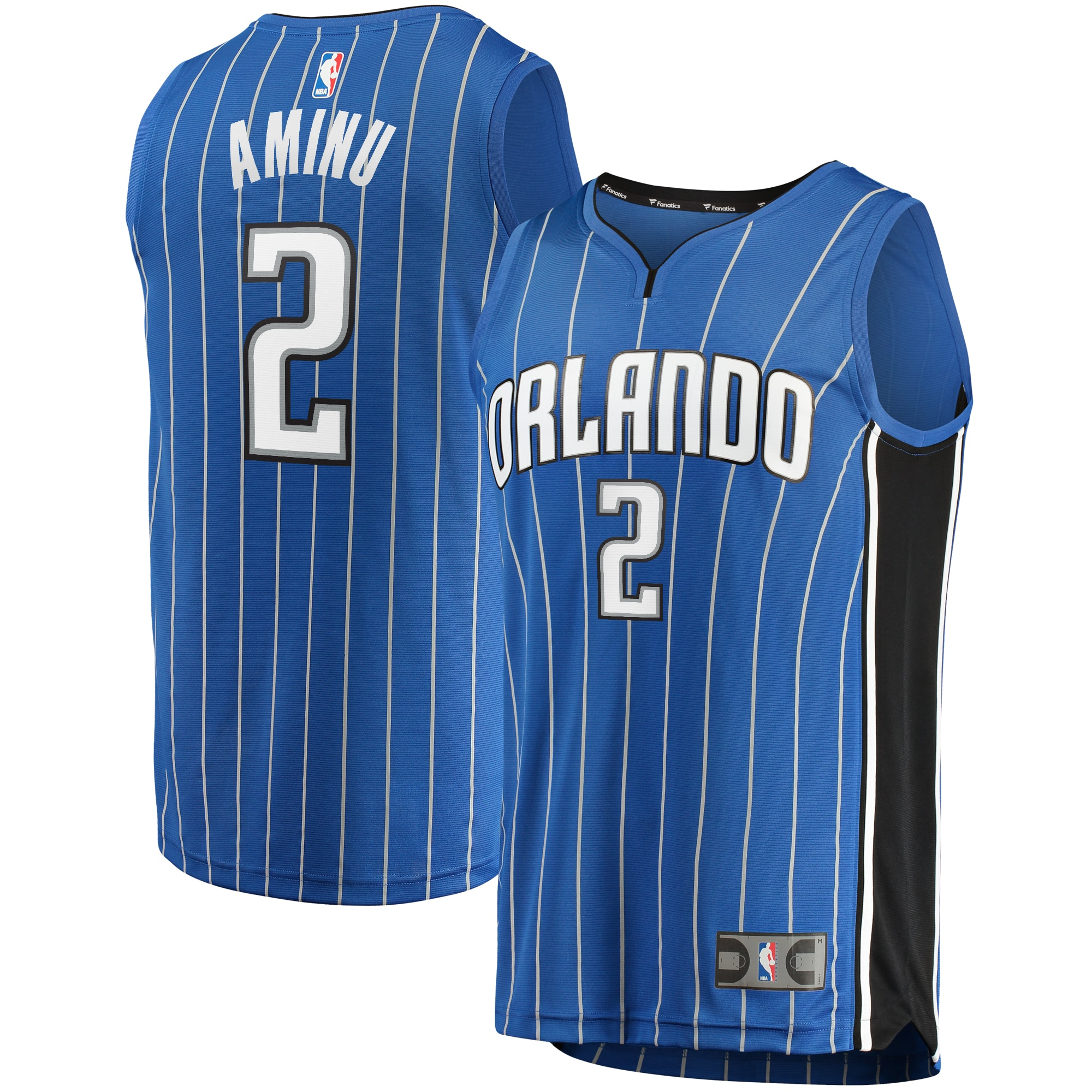 Al-Farouq Aminu Orlando Magic Fanatics Branded Youth Fast Break Replica Jersey Royal - Icon Edition