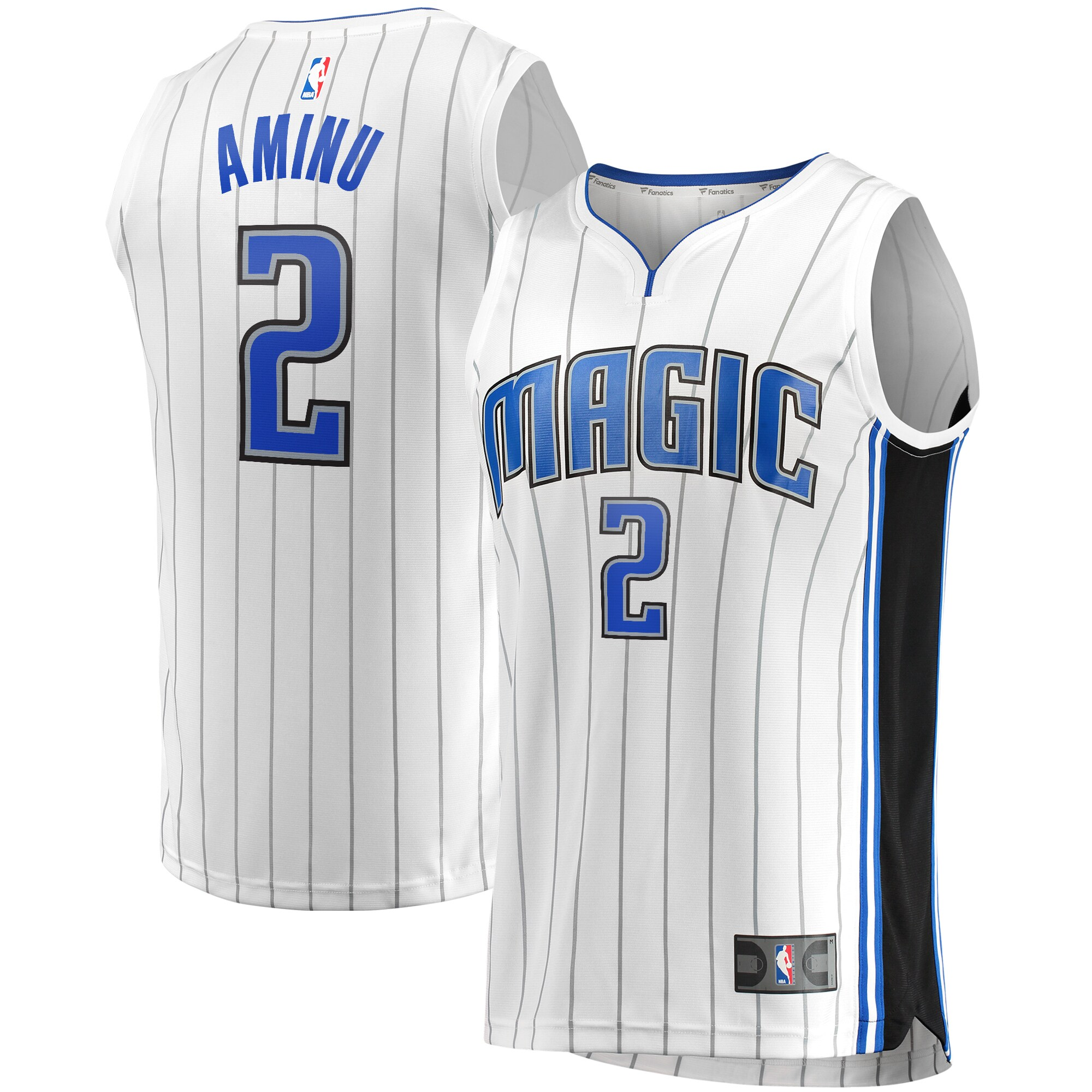 Al-Farouq Aminu Orlando Magic Fanatics Branded Fast Break Replica Jersey White - Association Edition
