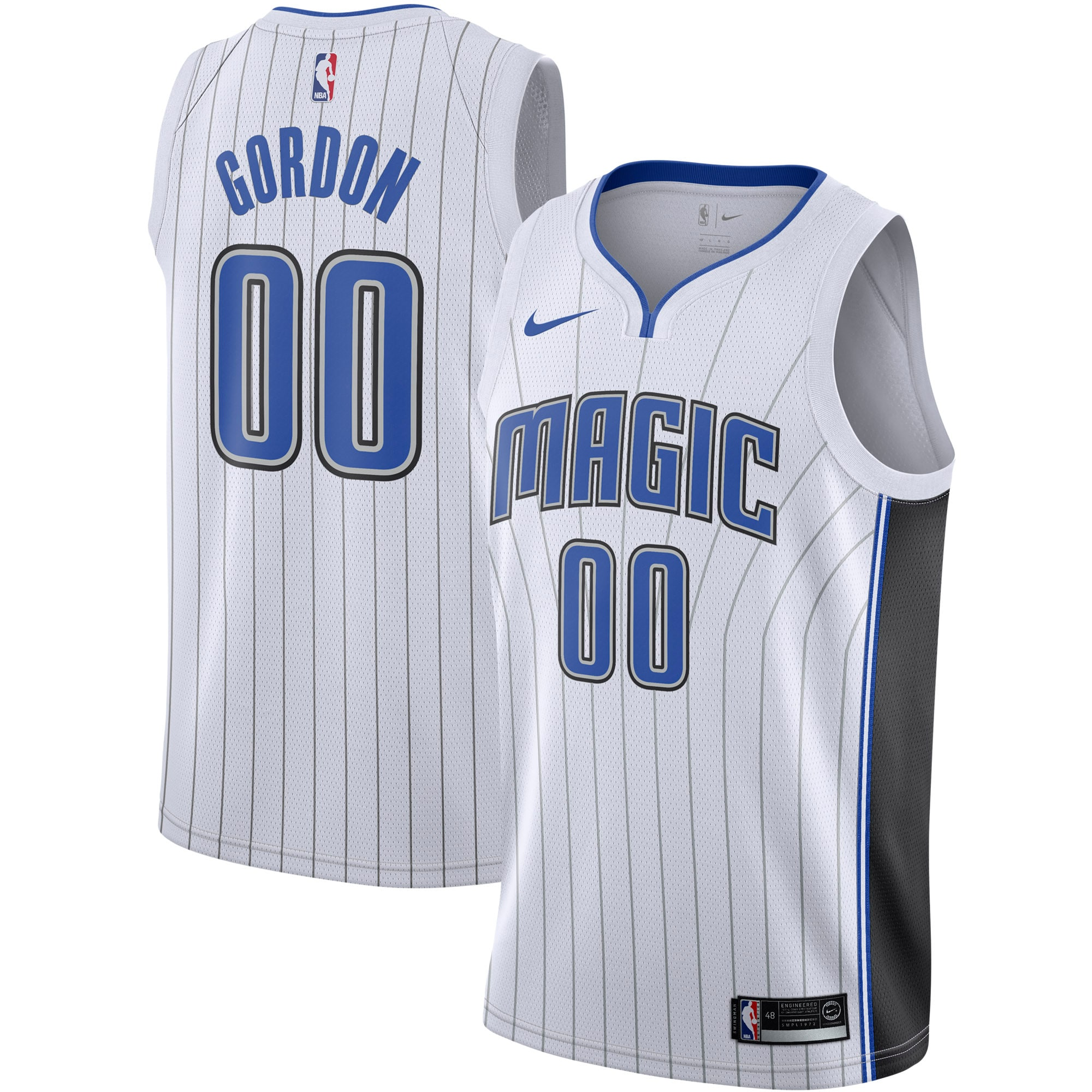 Aaron Gordon Orlando Magic Nike 2019/2020 Swingman Jersey - Association Edition - White