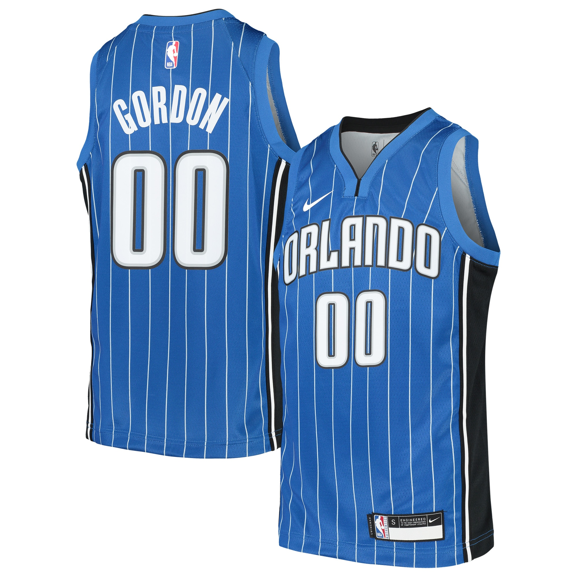Aaron Gordon Orlando Magic Nike Youth Swingman Jersey - Blue