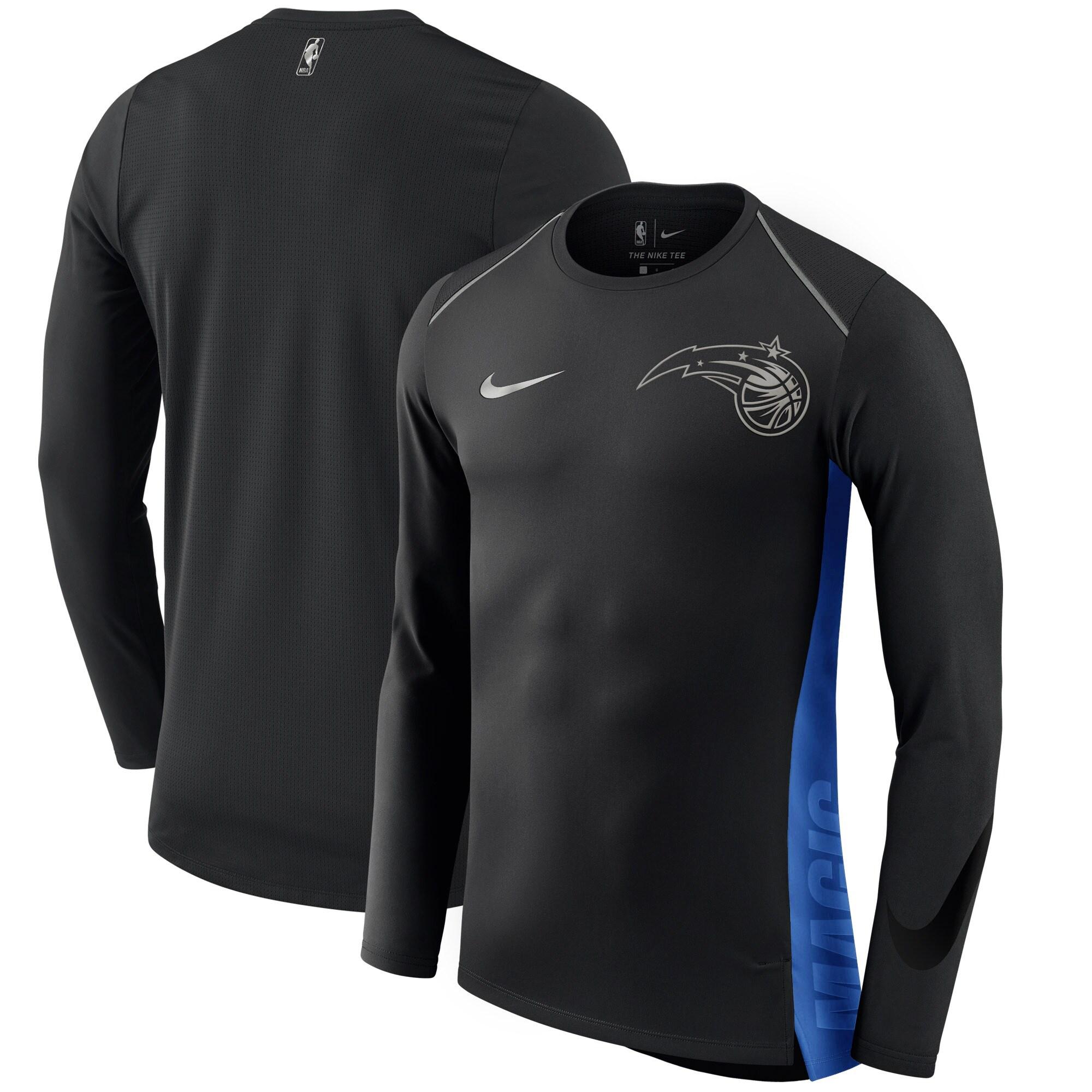 Orlando Magic Nike Holiday HyperElite Dry Shooter Statement Edition Long Sleeve T-Shirt - Black