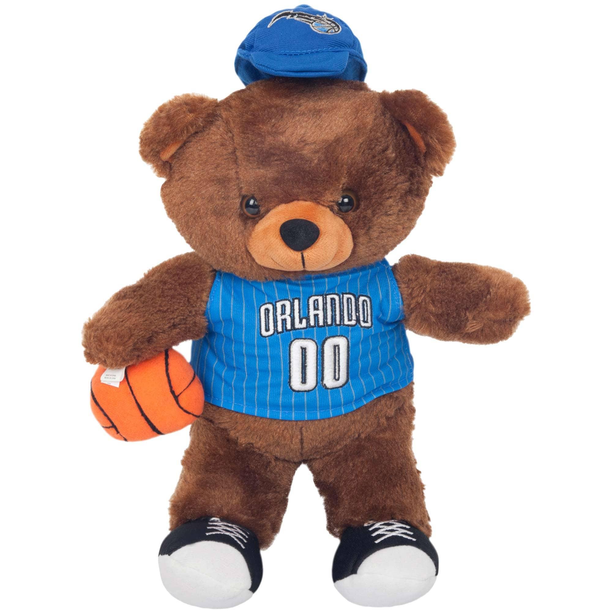 Orlando Magic Locker Room Buddy Dress Me Plush Bear Kit