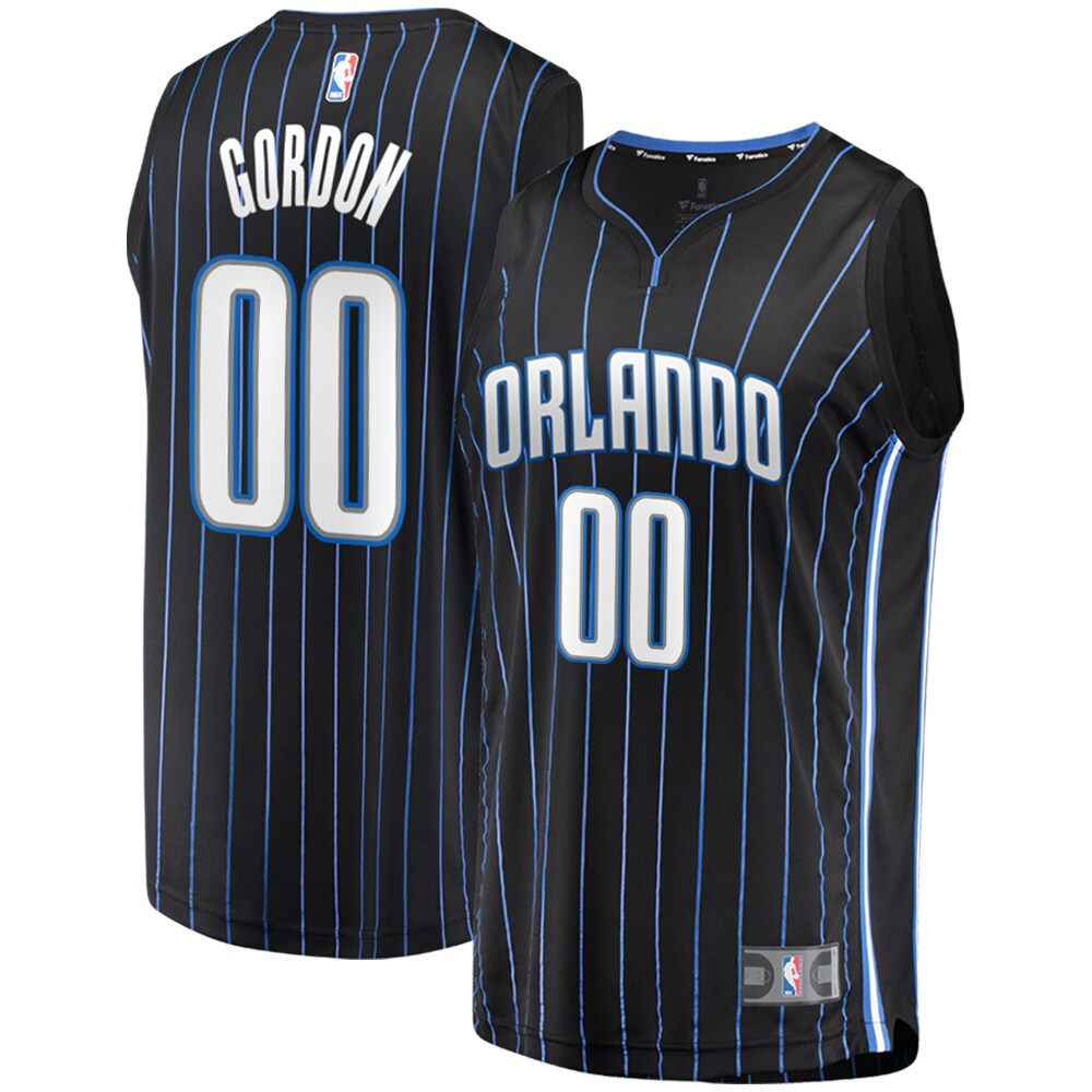 Aaron Gordon Orlando Magic Fanatics Branded 2019 Fast Break Replica Player Jersey Black - Icon Edition