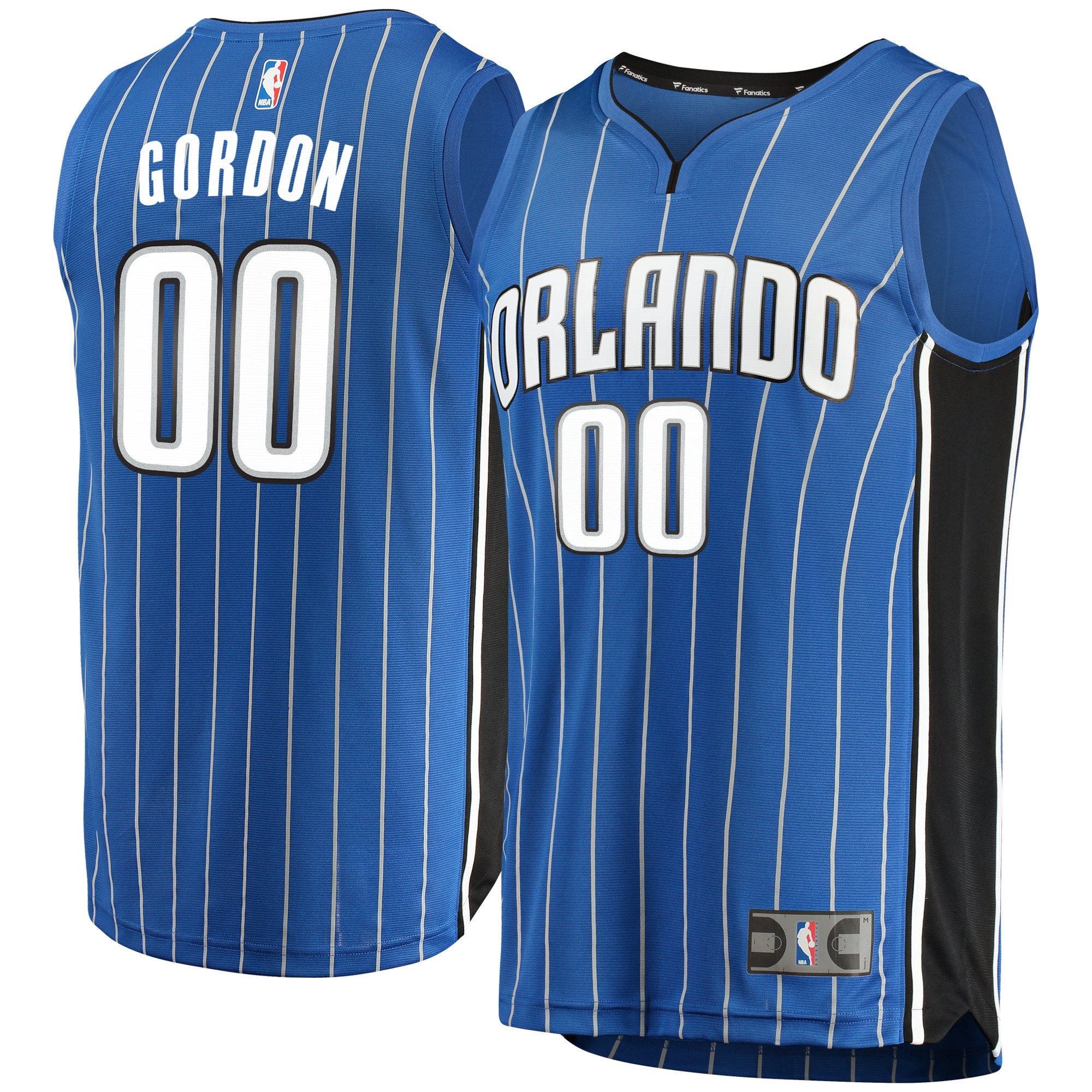 Aaron Gordon Orlando Magic Fanatics Branded Youth Fast Break Replica Jersey Blue - Icon Edition